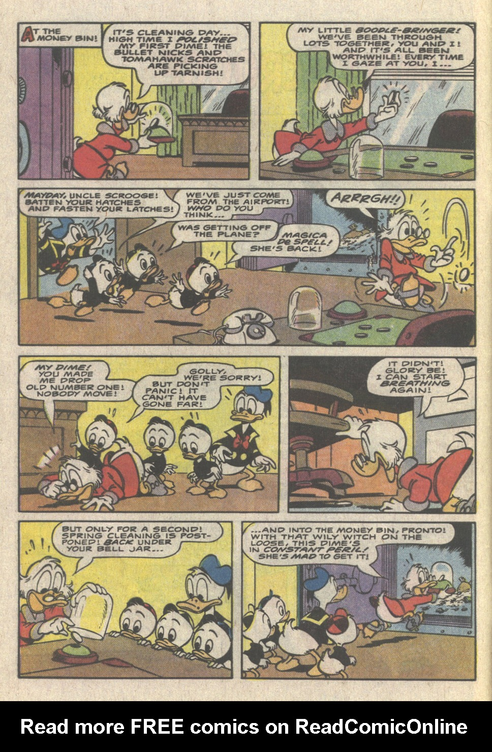 Uncle Scrooge (1953) Issue #223 #223 - English 4