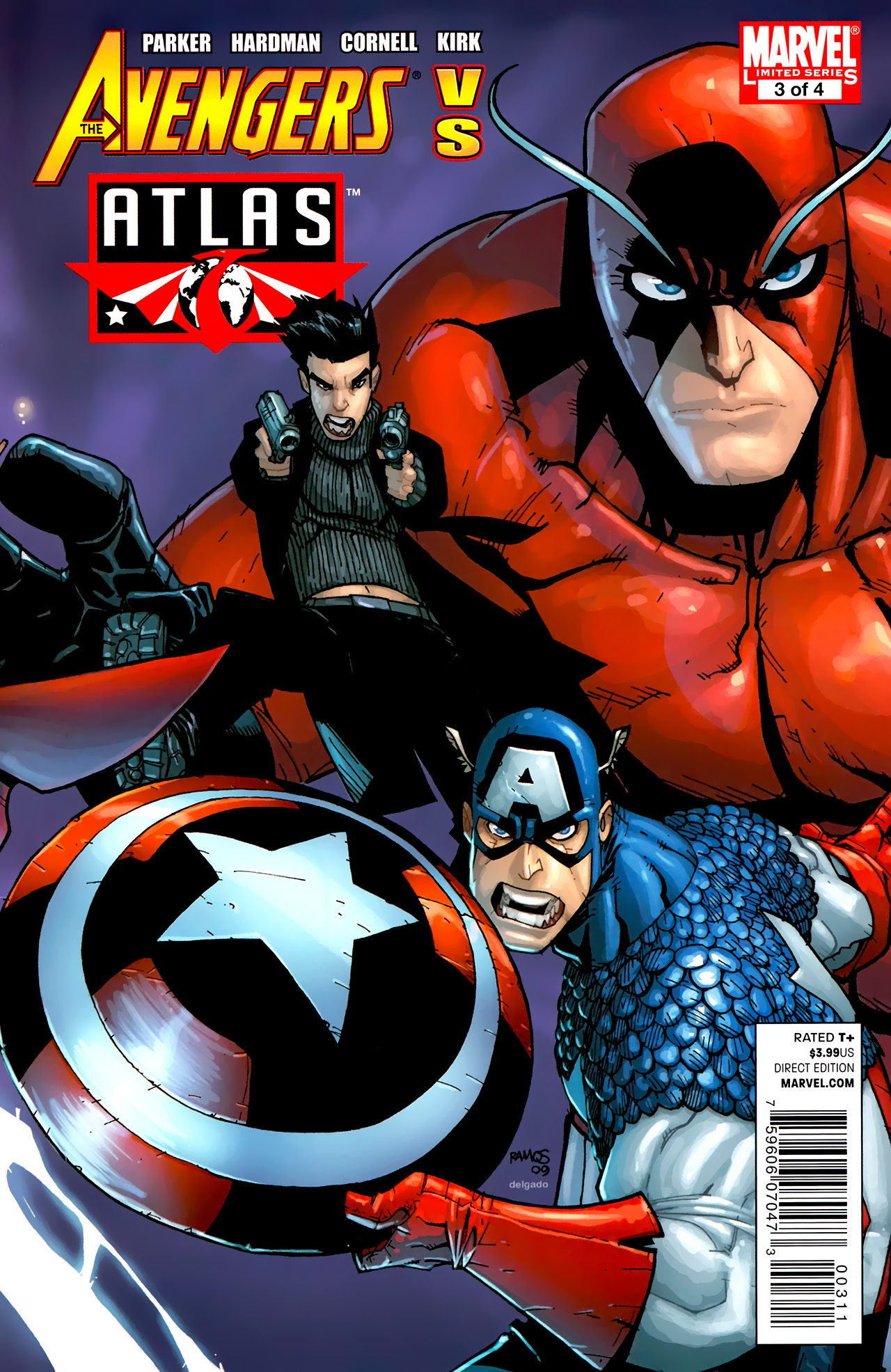 Avengers vs. Atlas 3 Page 1