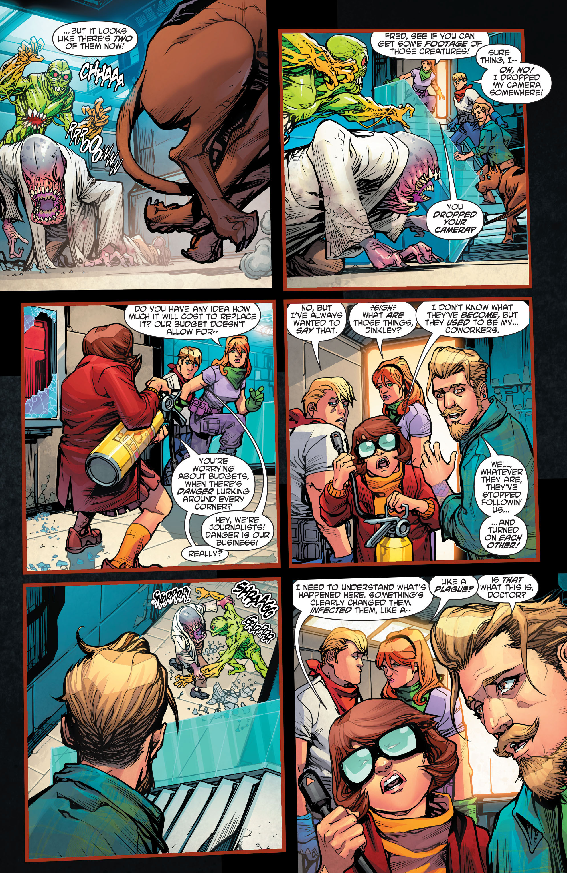 Read online Scooby Apocalypse comic -  Issue #2 - 10