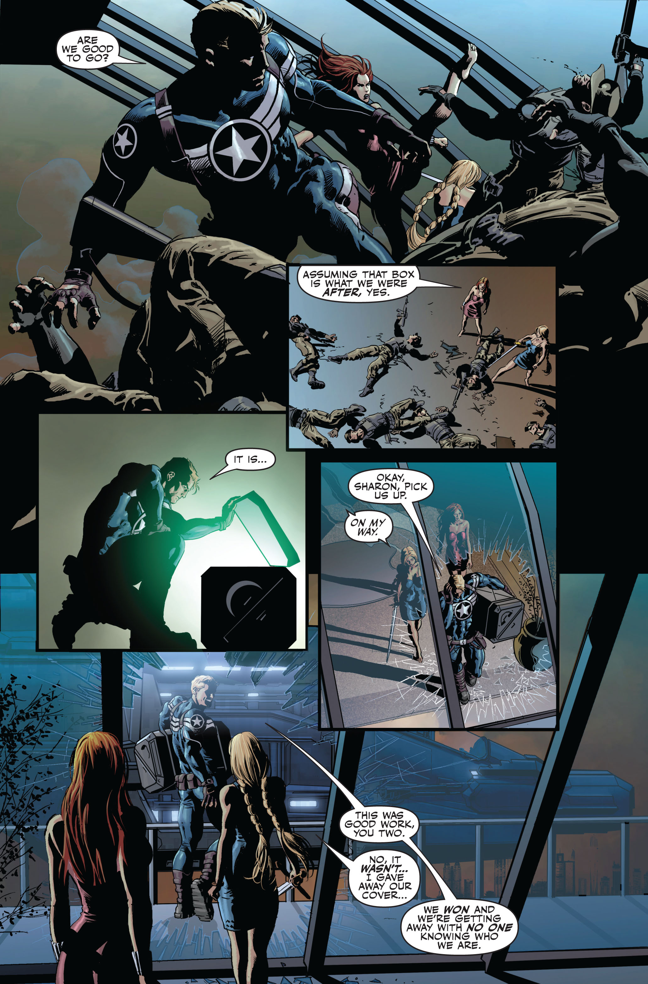 Read online Secret Avengers (2010) comic -  Issue #1 - 7