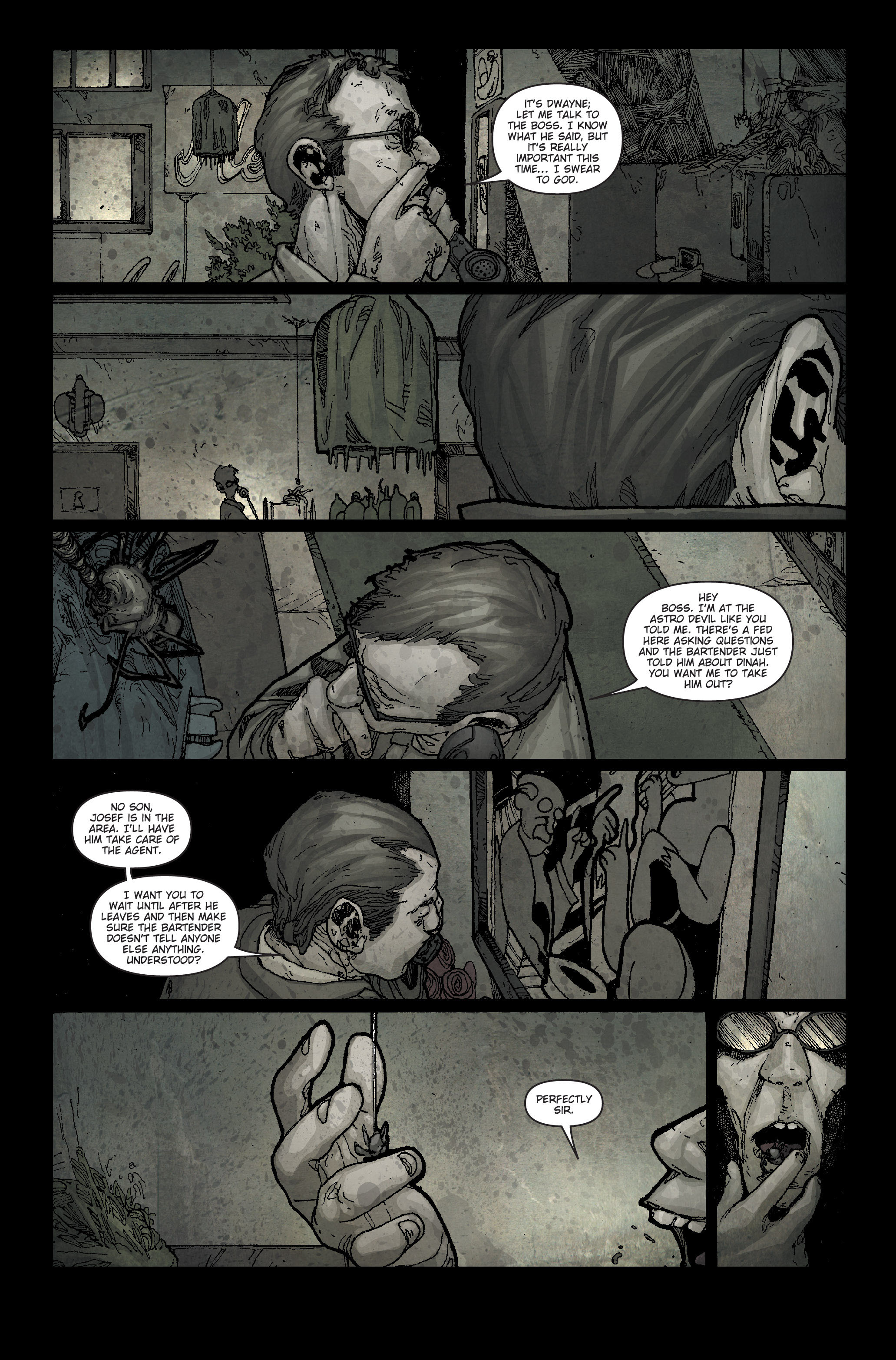 30 Days of Night: Spreading the Disease 1 Page 11