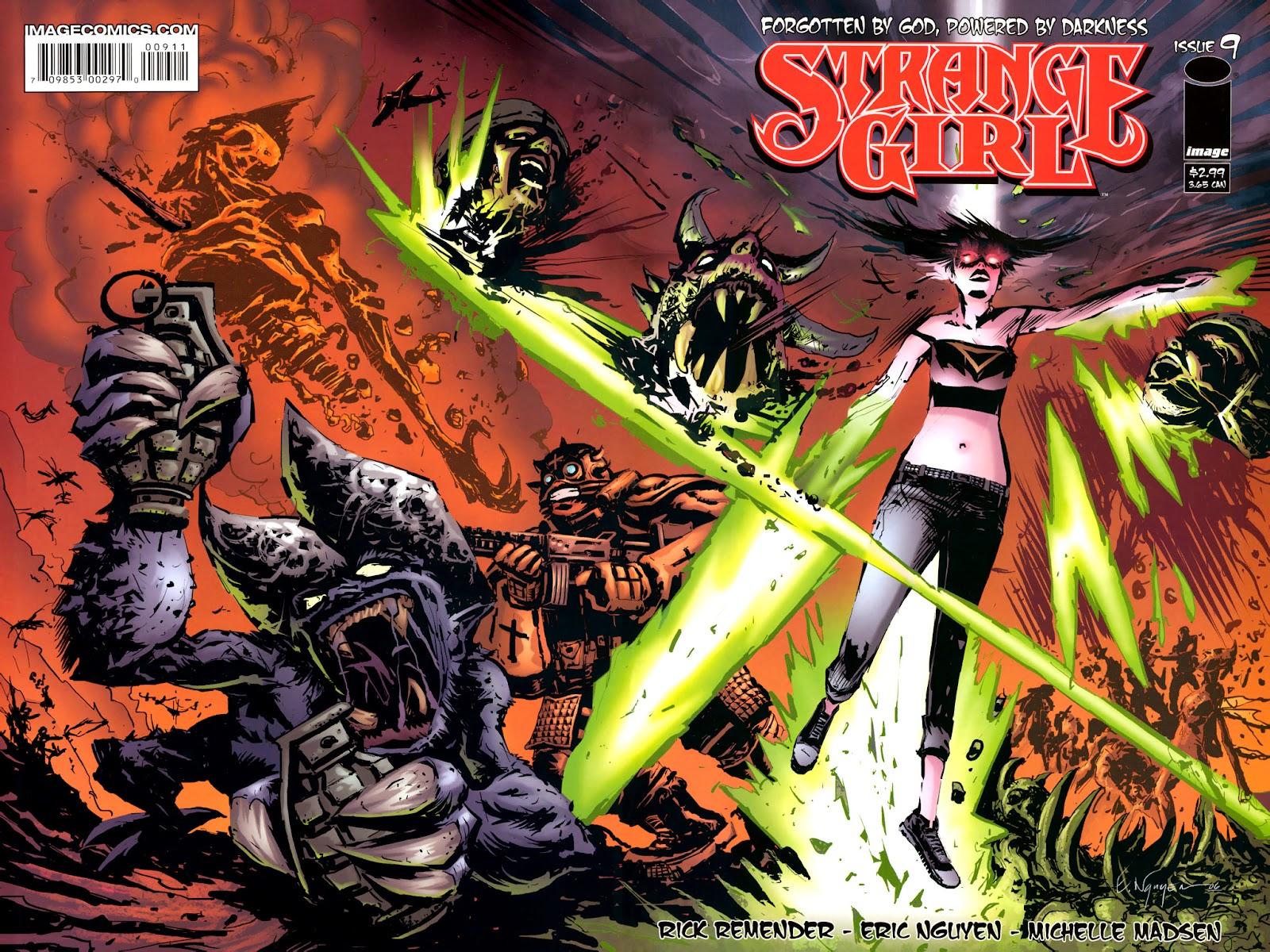 Strange Girl Issue #9 #10 - English 1