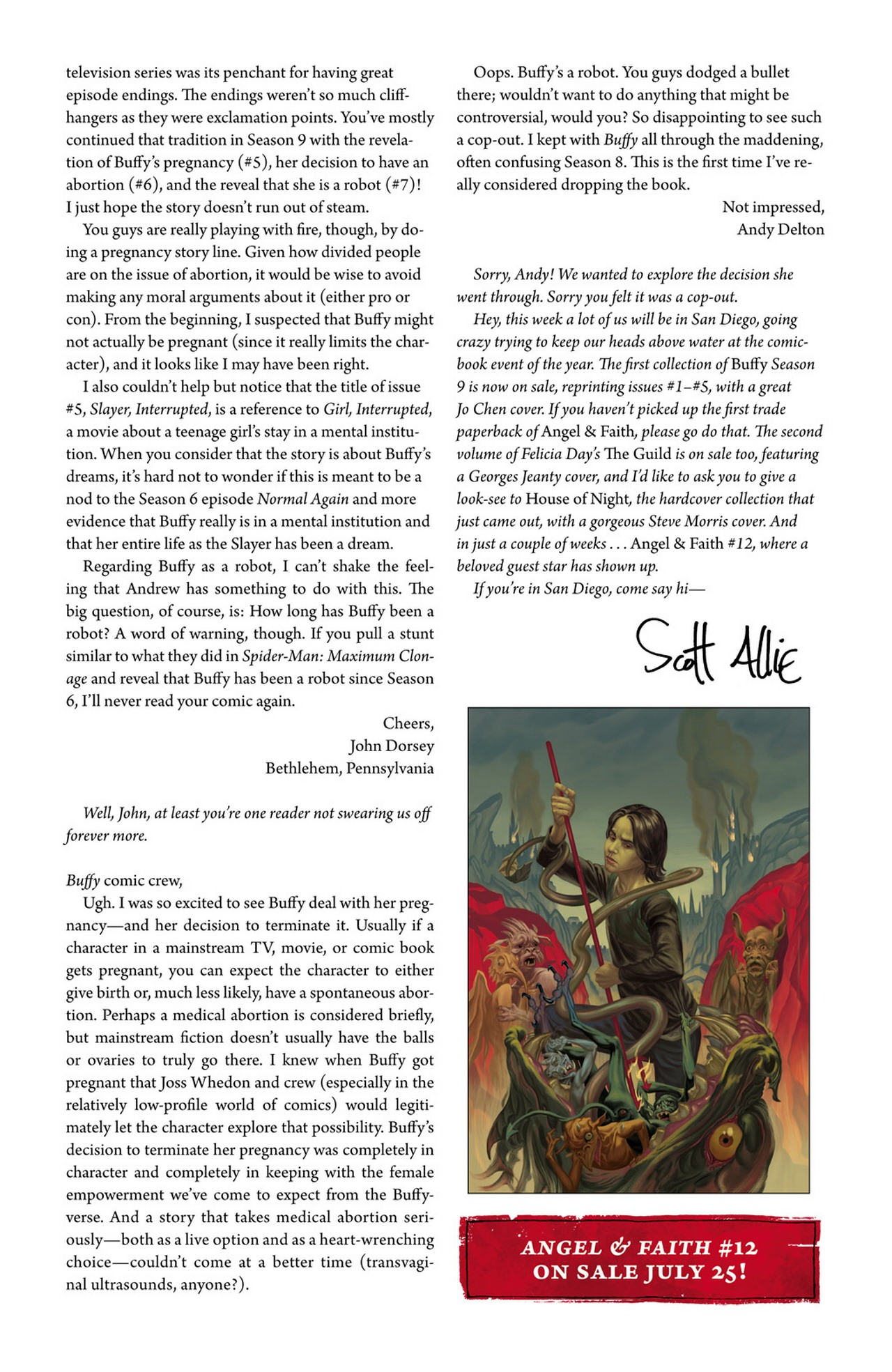 Read online Buffy the Vampire Slayer Season Nine comic -  Issue #11 - 26