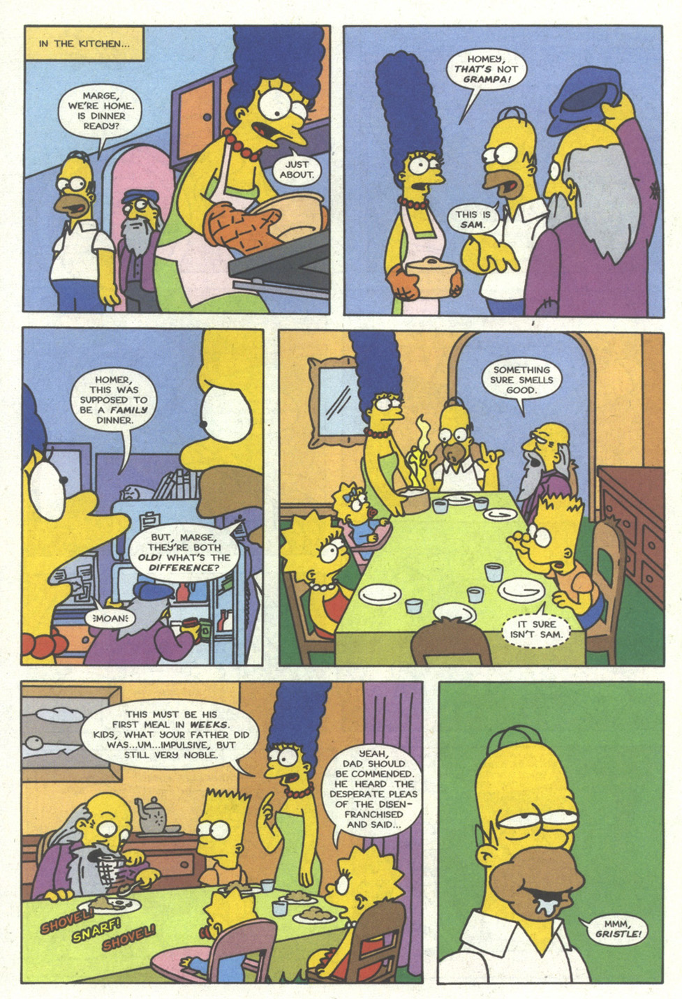 Read online Simpsons Comics comic -  Issue #14 - 5