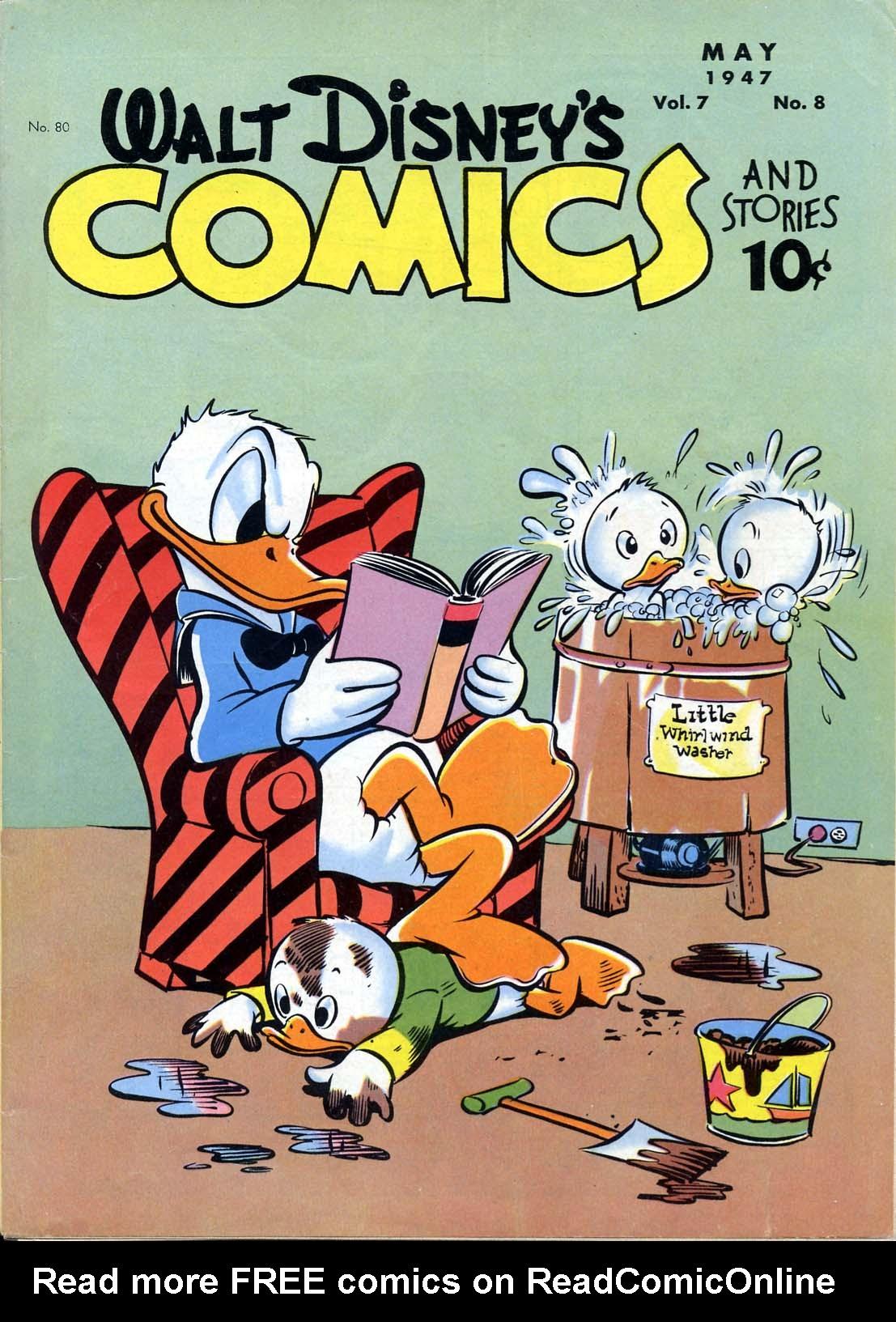 Walt Disneys Comics and Stories 80 Page 1