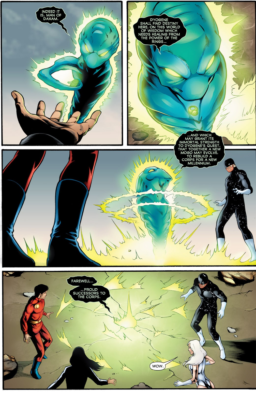 Legion of Super-Heroes (2010) Issue #16 #17 - English 18