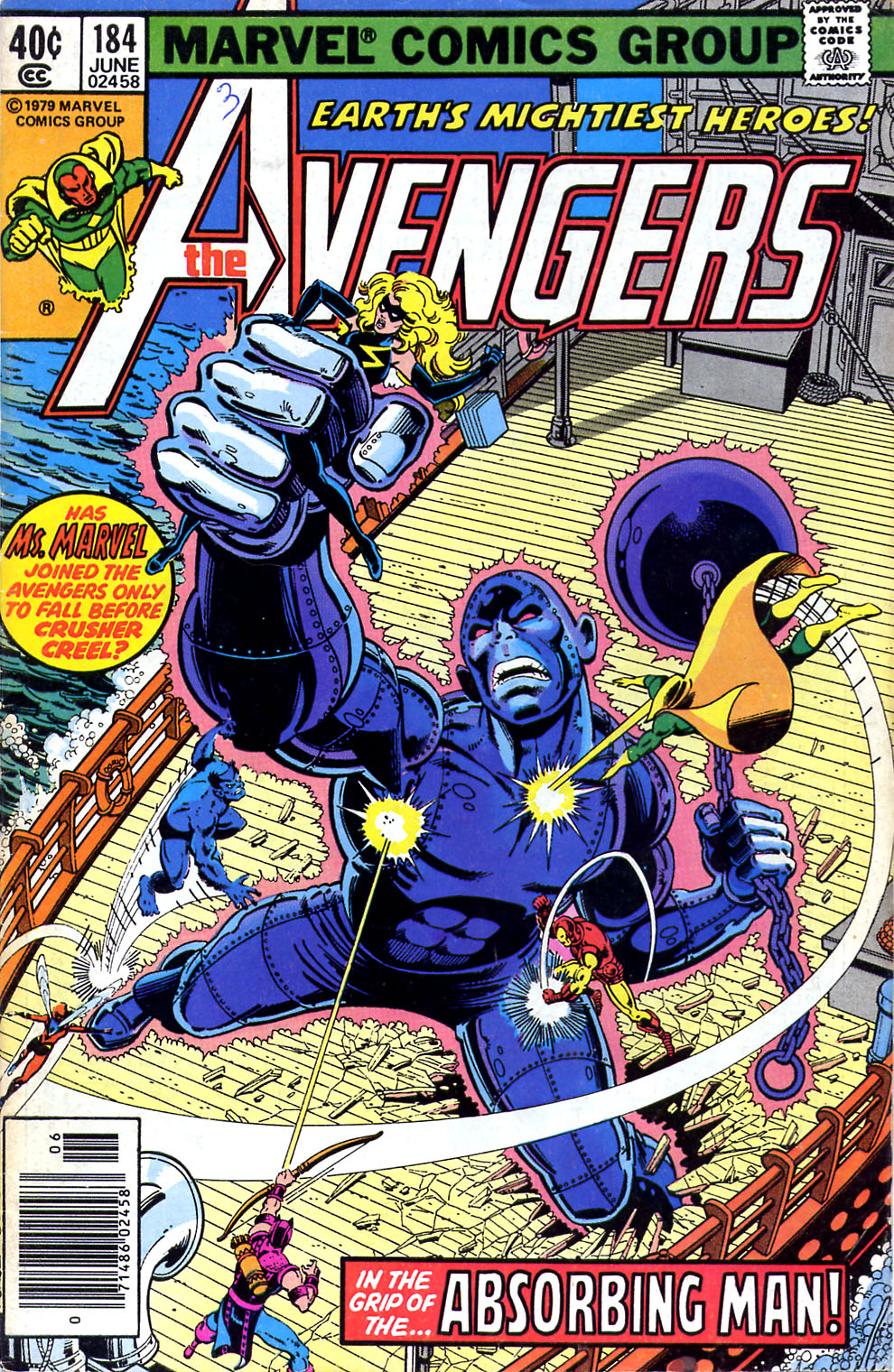 The Avengers (1963) 184 Page 1