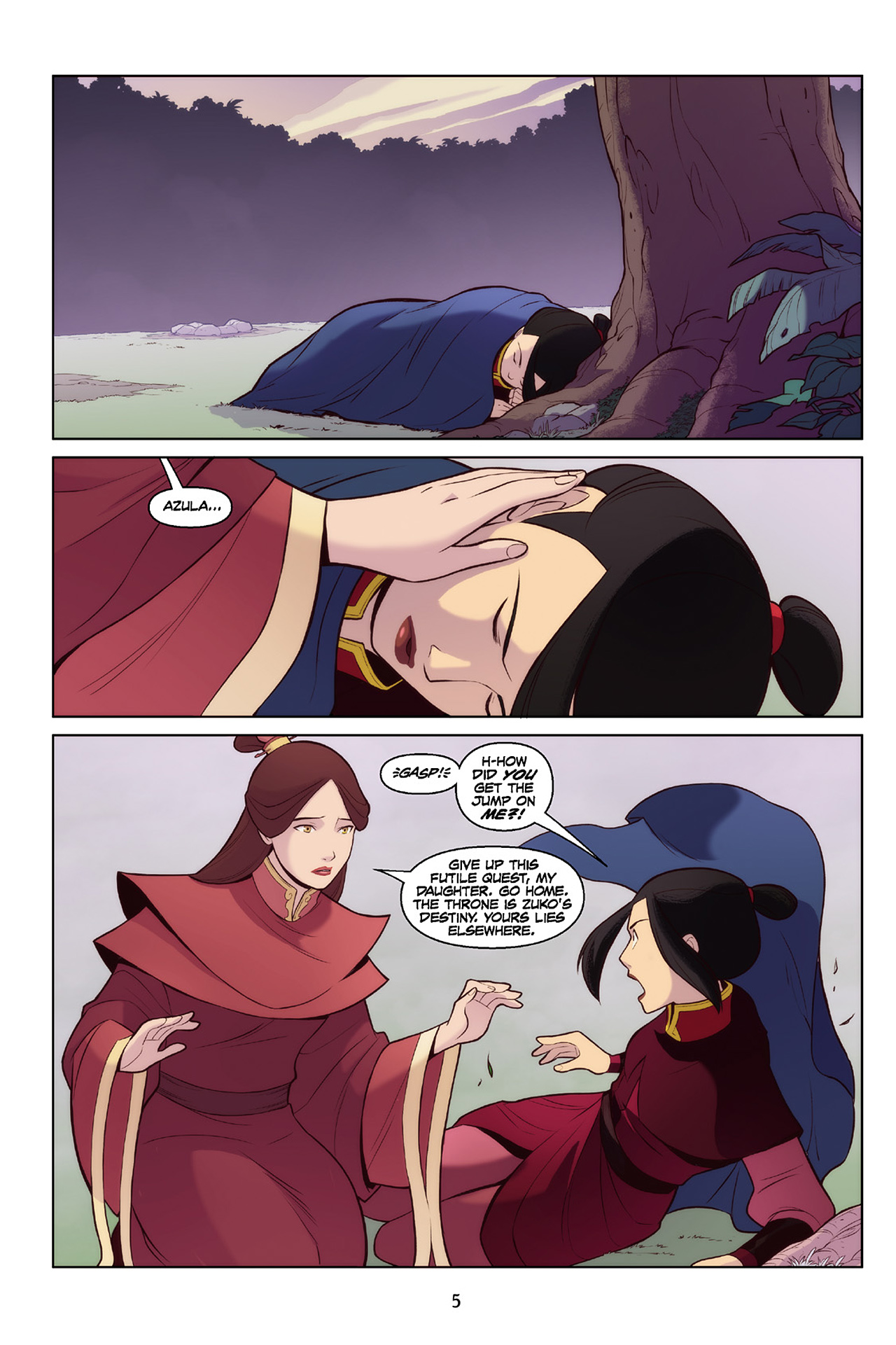 Read online Nickelodeon Avatar: The Last Airbender - The Search comic -  Issue # Part 2 - 6