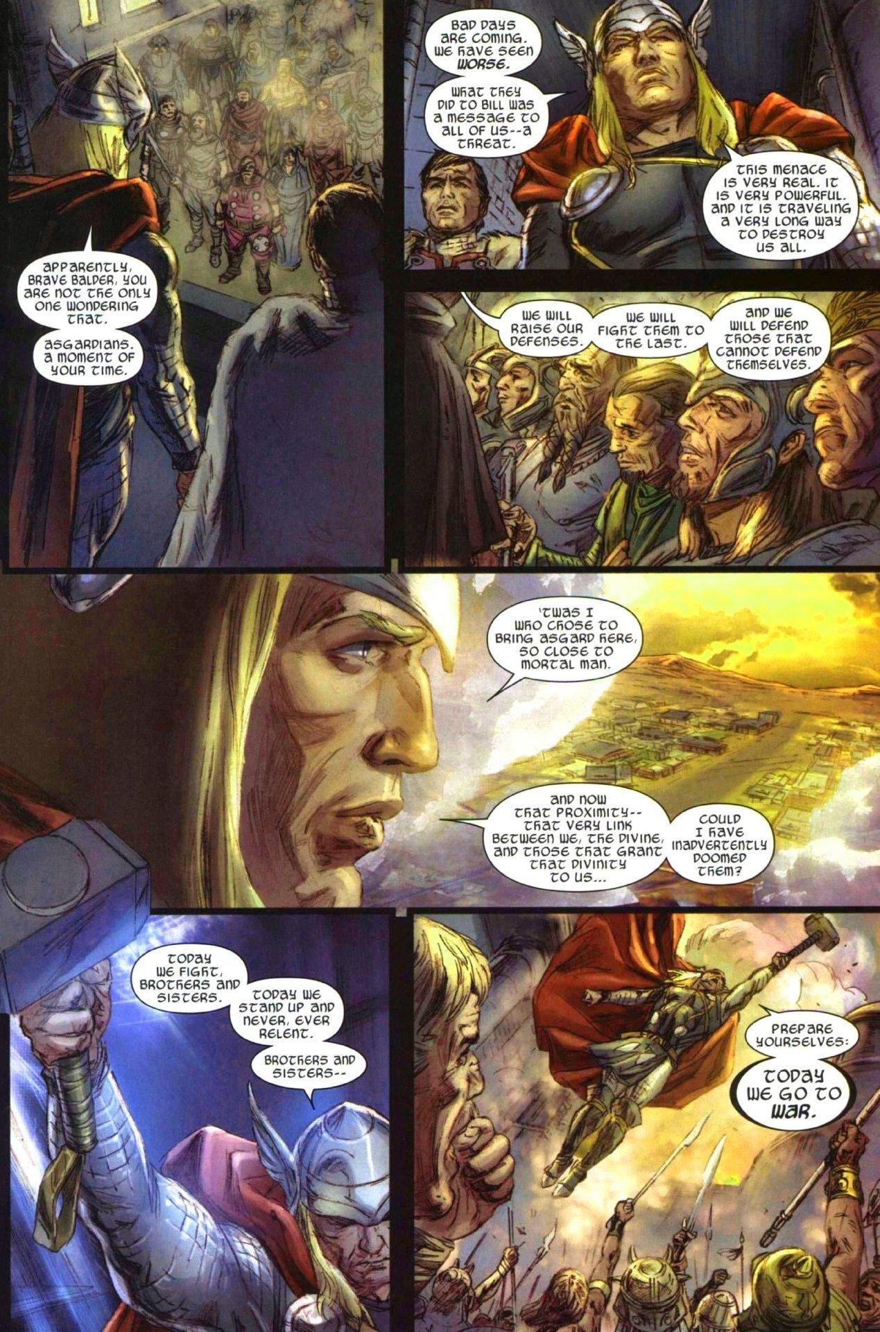 Read online Secret Invasion: Thor comic -  Issue #1 - 11
