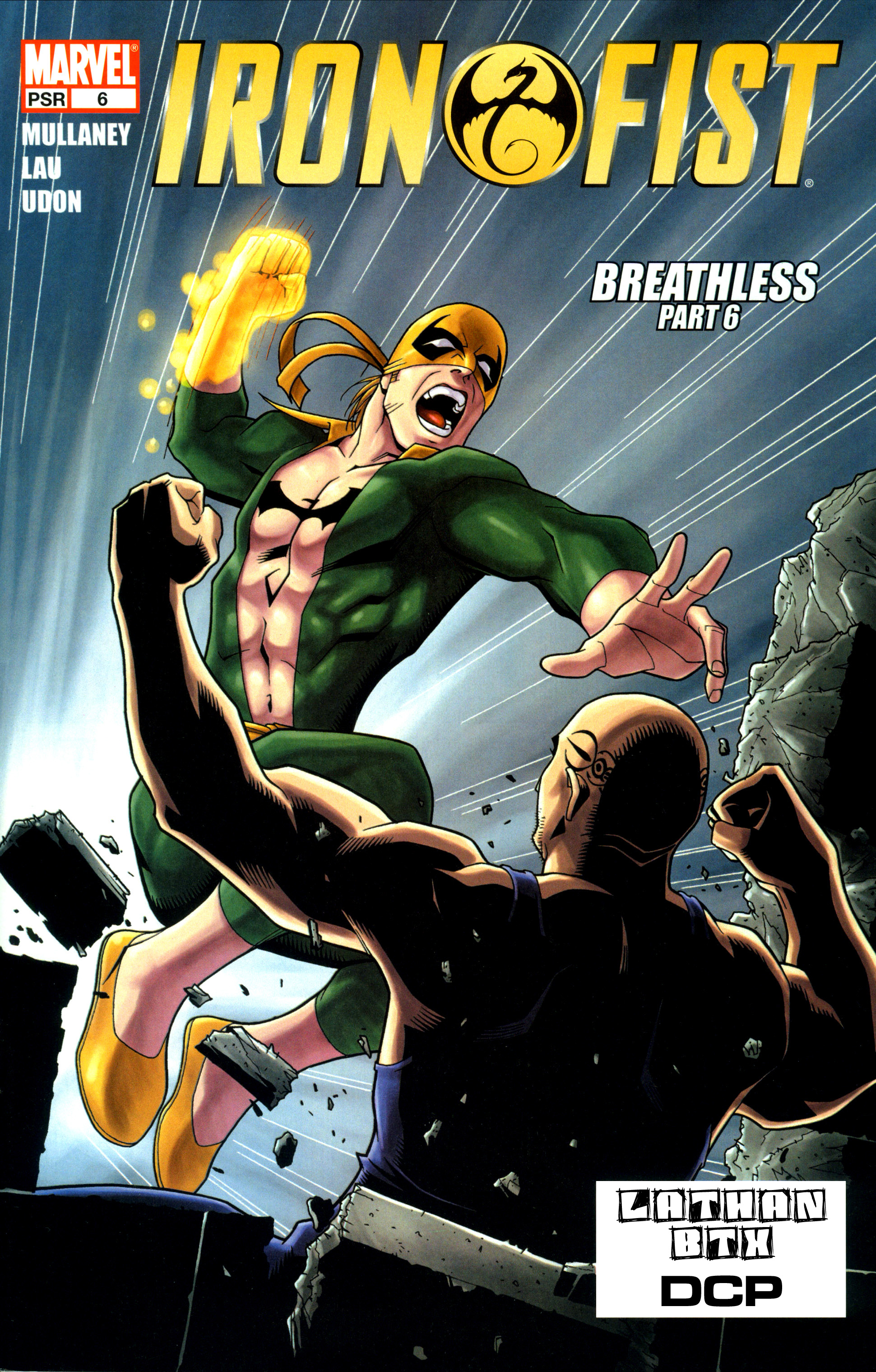 Iron Fist (2004)  issue 6 - Page 1