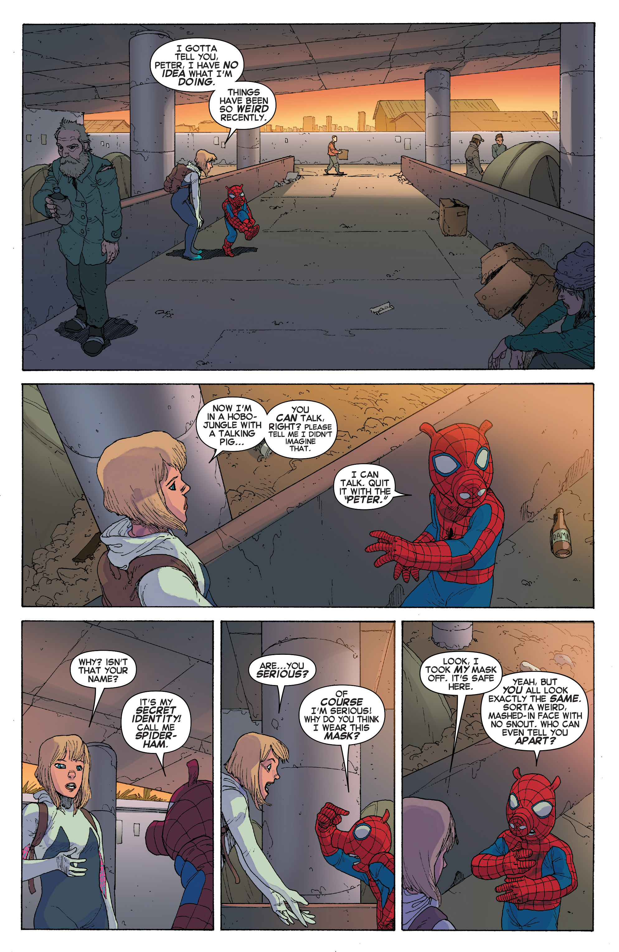 Read online Spider-Verse [II] comic -  Issue #2 - 7