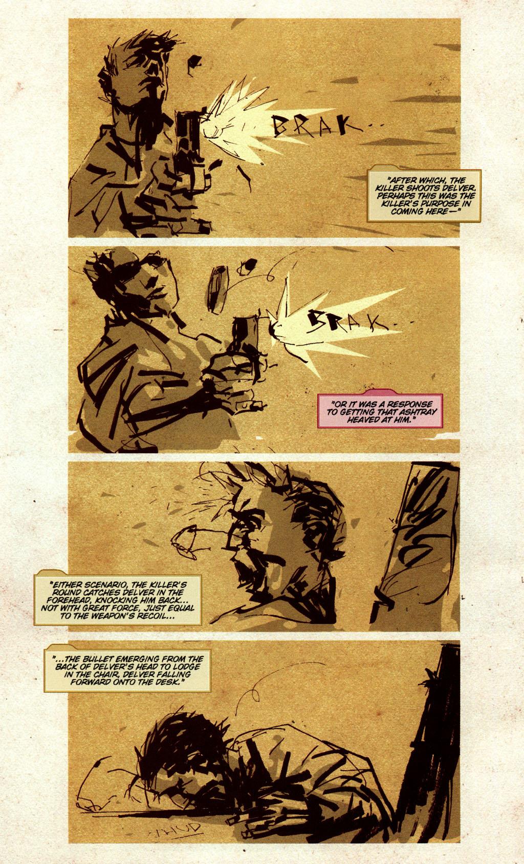 Read online CSI: Crime Scene Investigation: Bad Rap comic -  Issue #5 - 9
