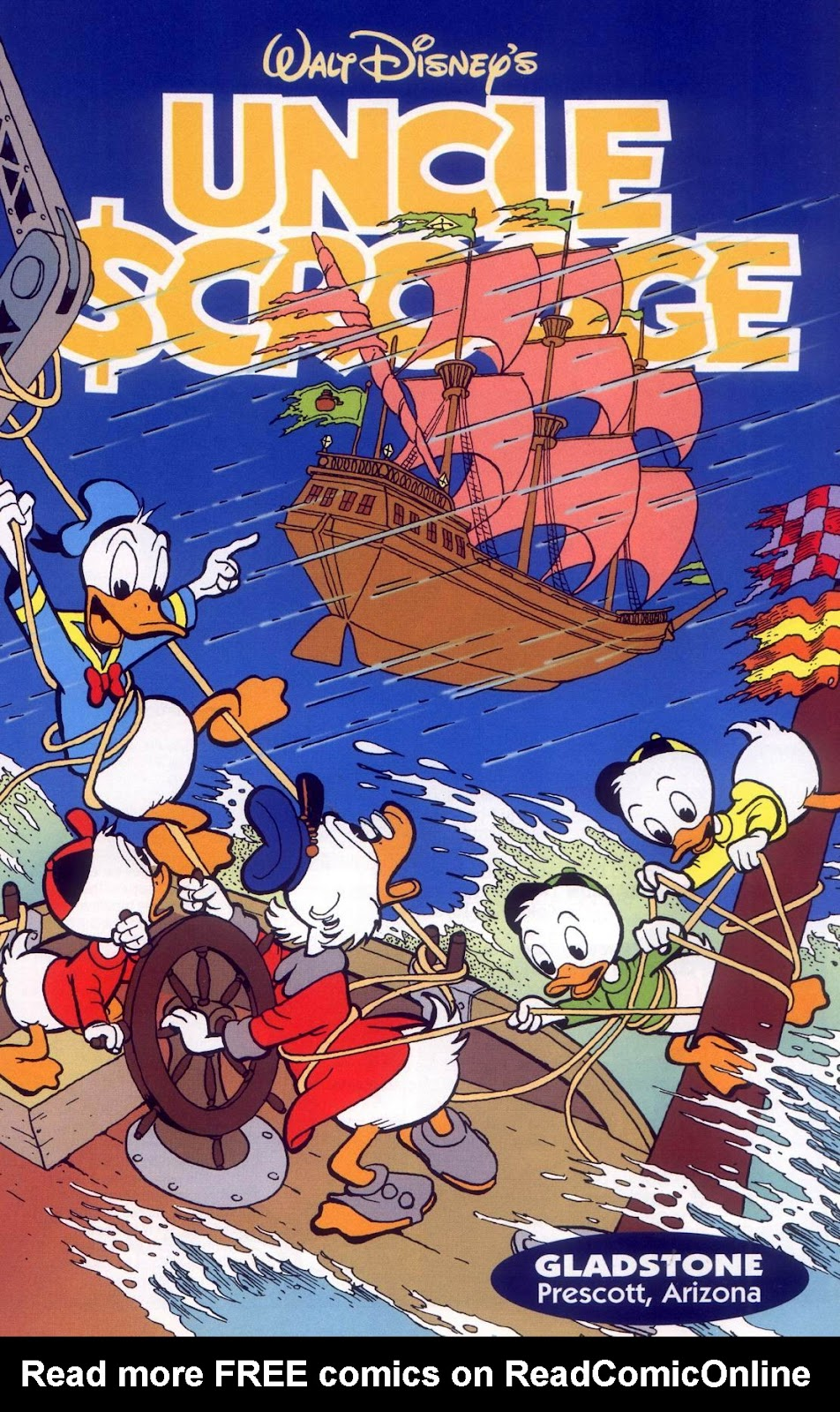 Uncle Scrooge (1953) Issue #316 #316 - English 3