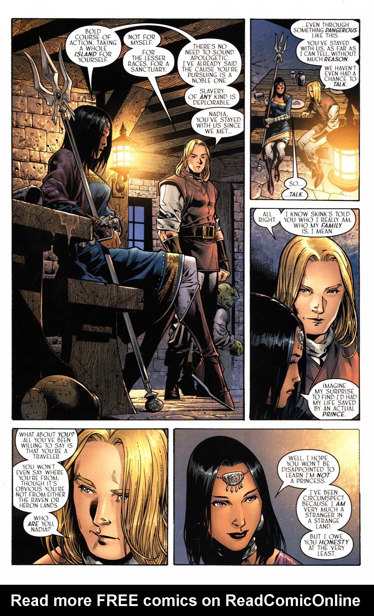 Read online Scion comic -  Issue #23 - 20