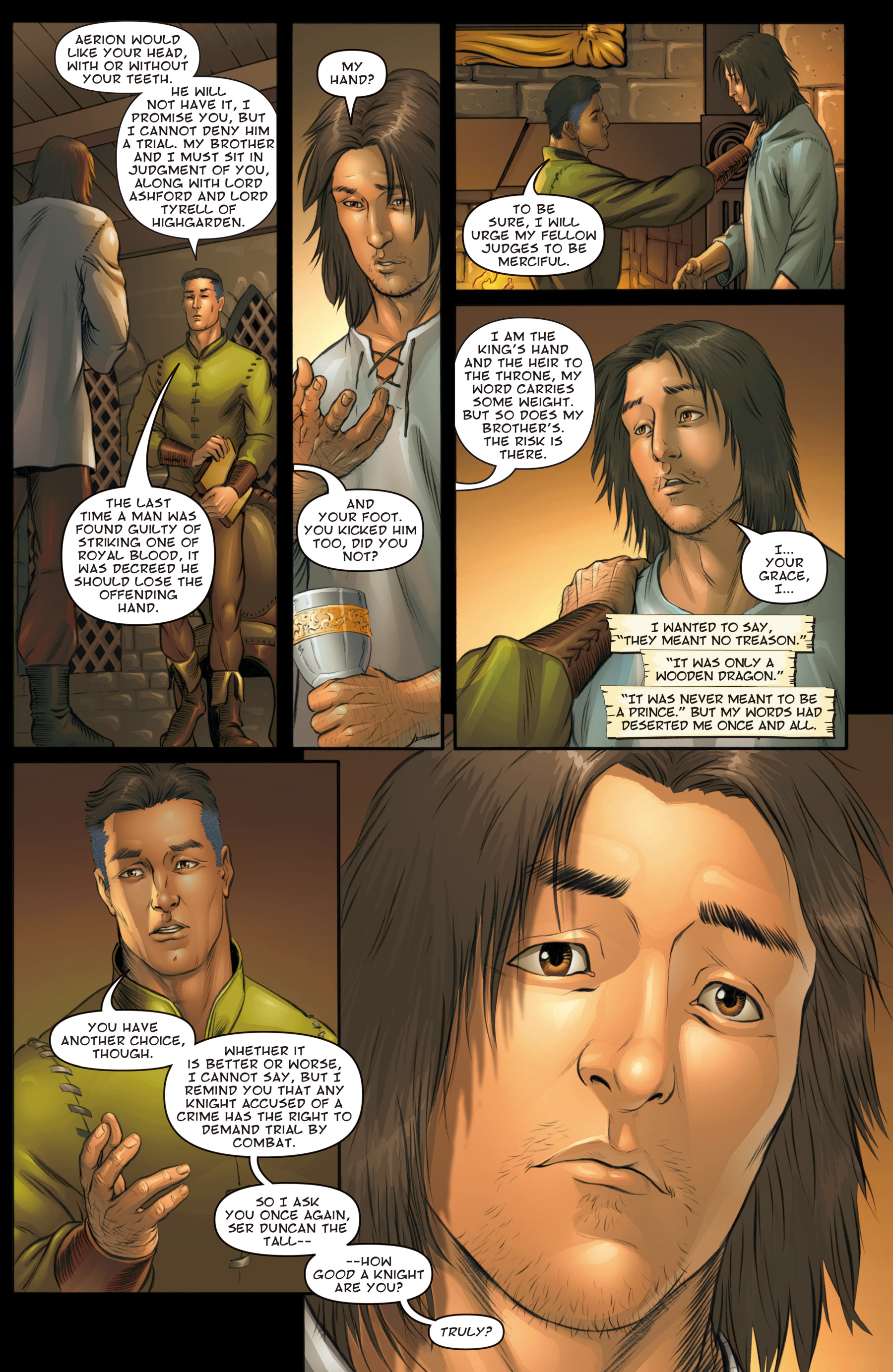 the hedge knight graphic novel pdf