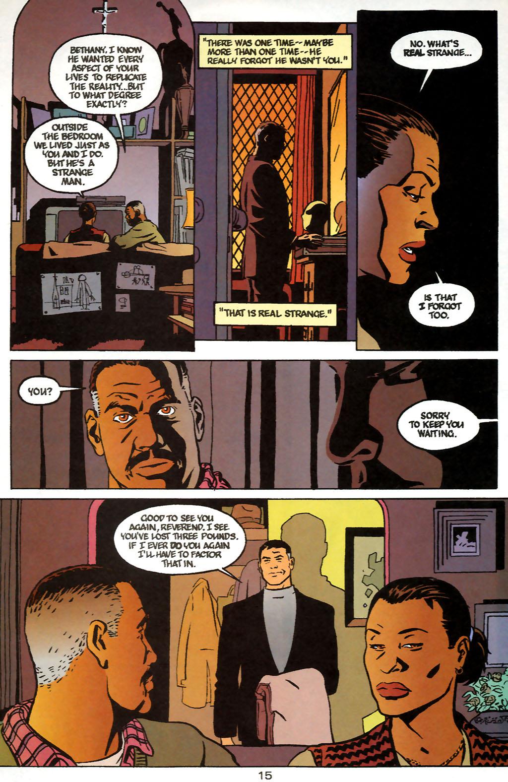 Human Target (1999) 1 Page 15