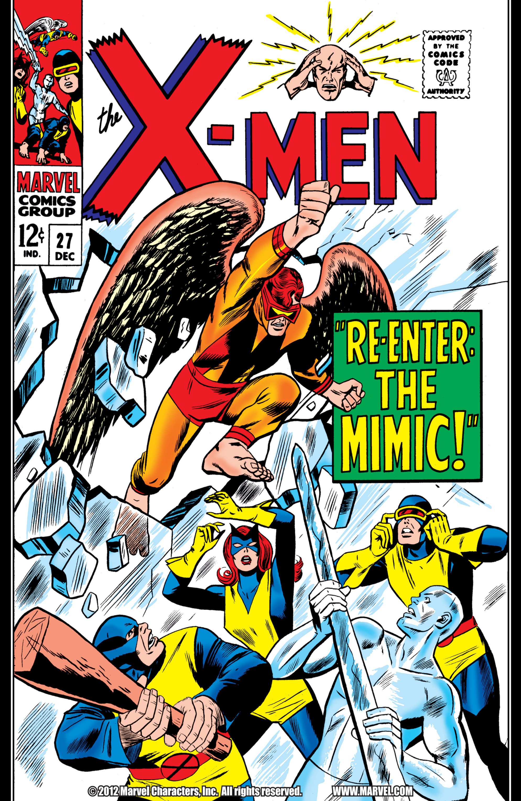Uncanny X-Men (1963) 27 Page 1