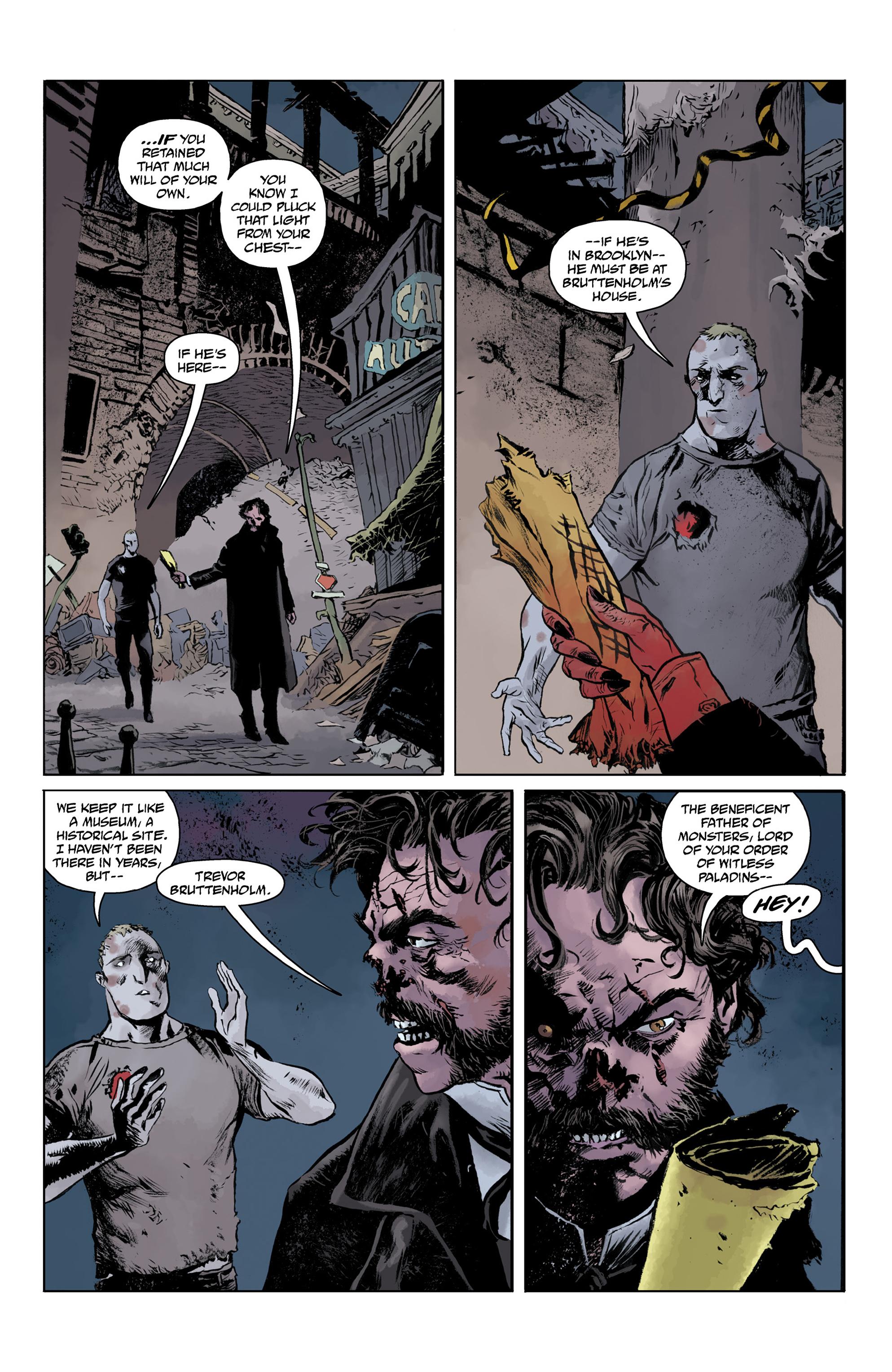 Read online Abe Sapien comic -  Issue #32 - 23