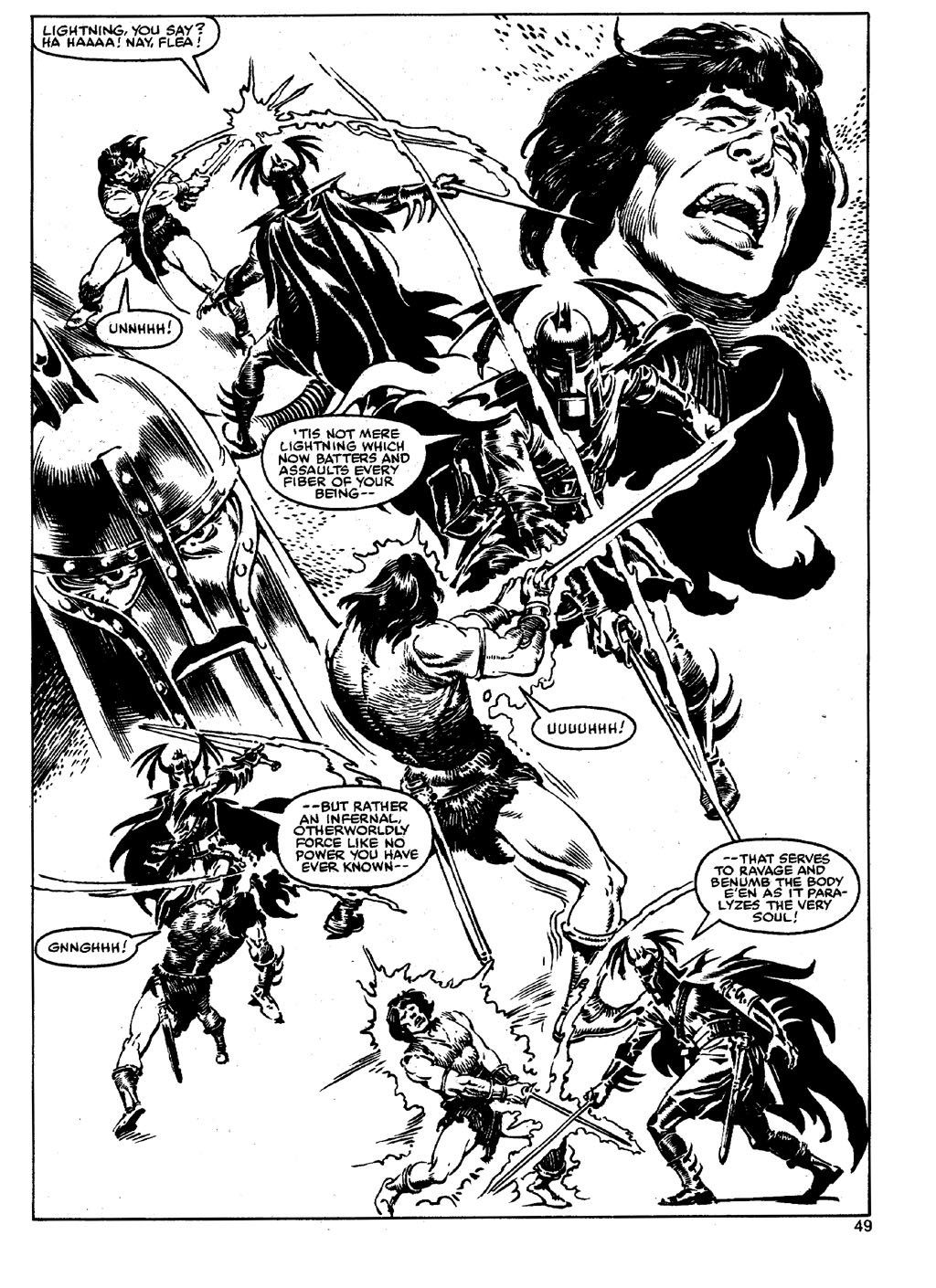 The Savage Sword Of Conan Issue #90 #91 - English 48