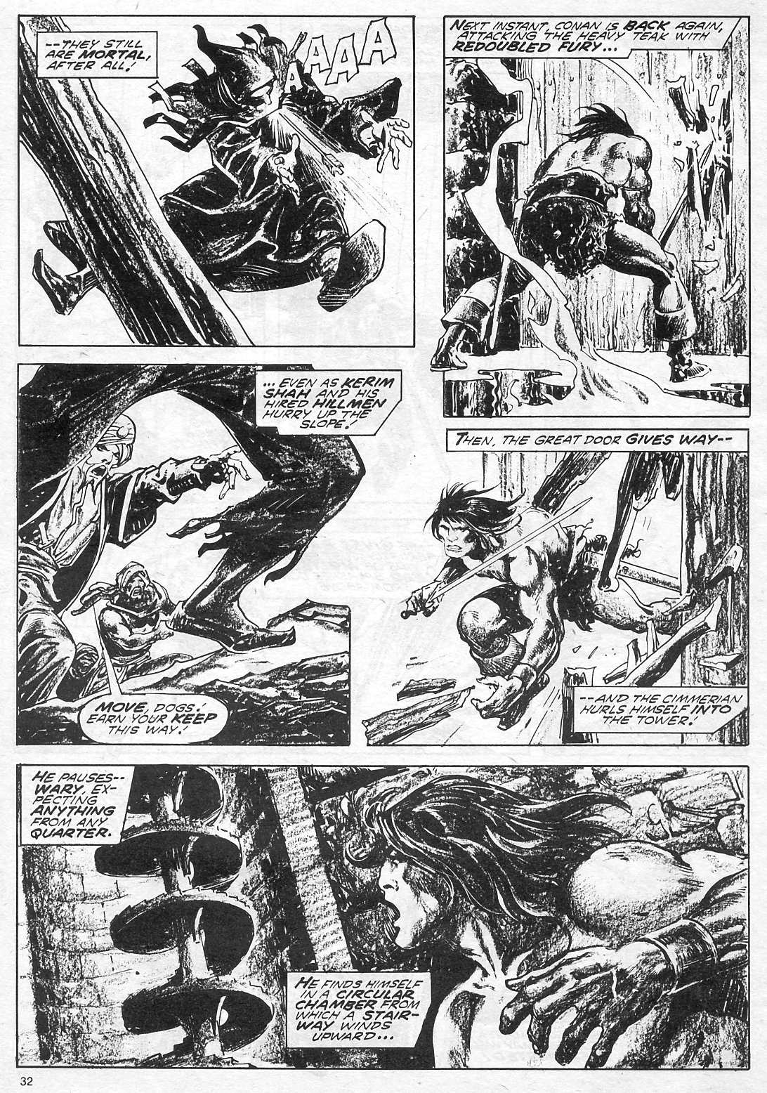 The Savage Sword Of Conan Issue #18 #19 - English 32