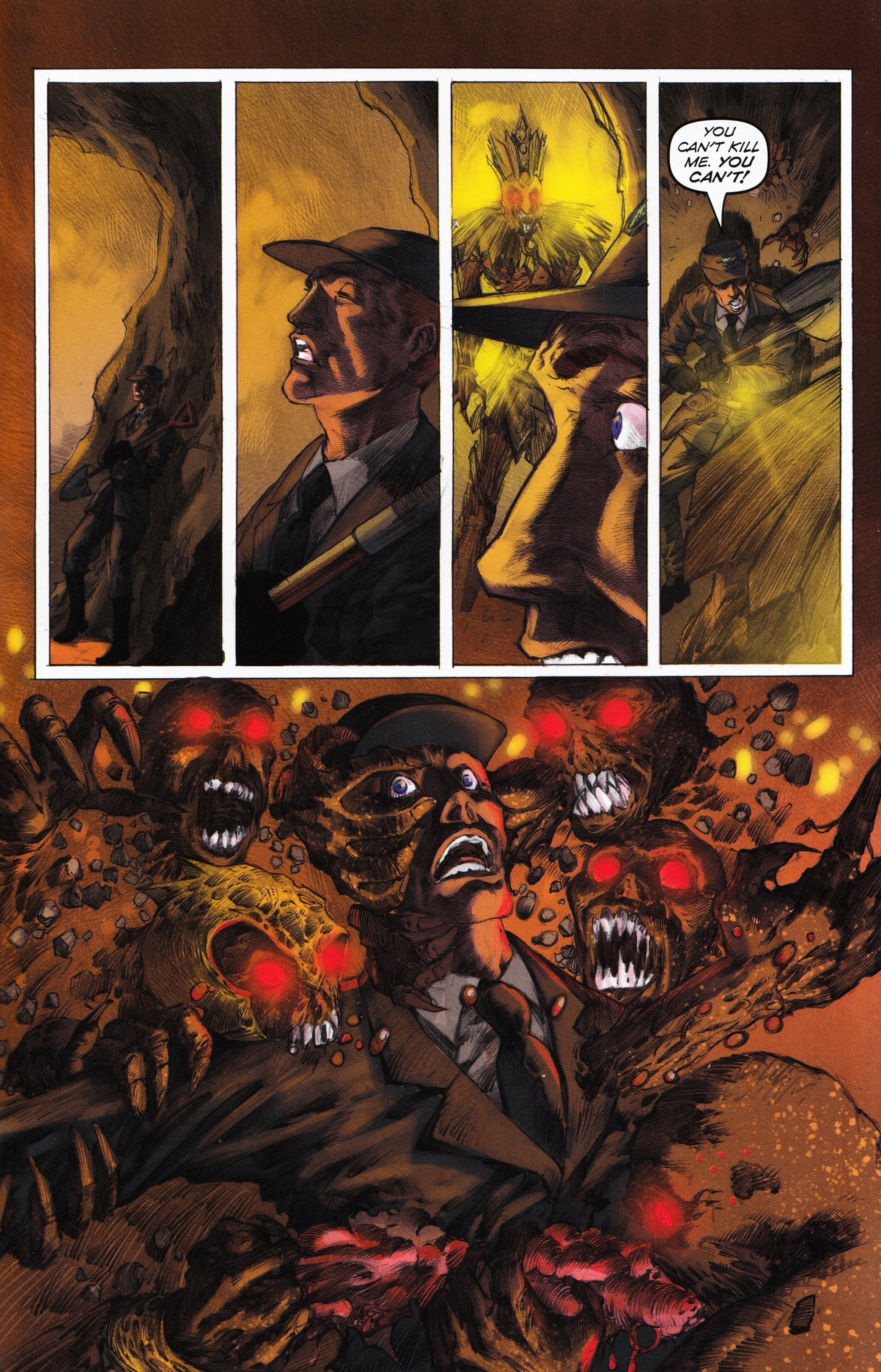 Read online Evil Dead 2: Tales of the Ex-Mortis comic -  Issue #3 - 37