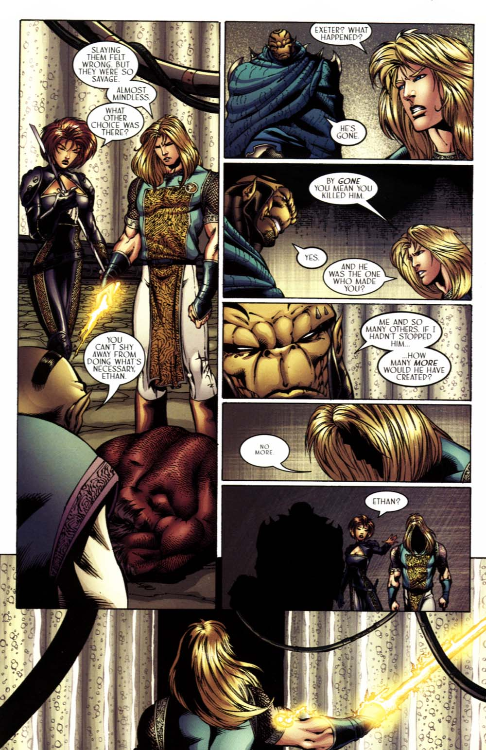 Read online Scion comic -  Issue #17 - 17
