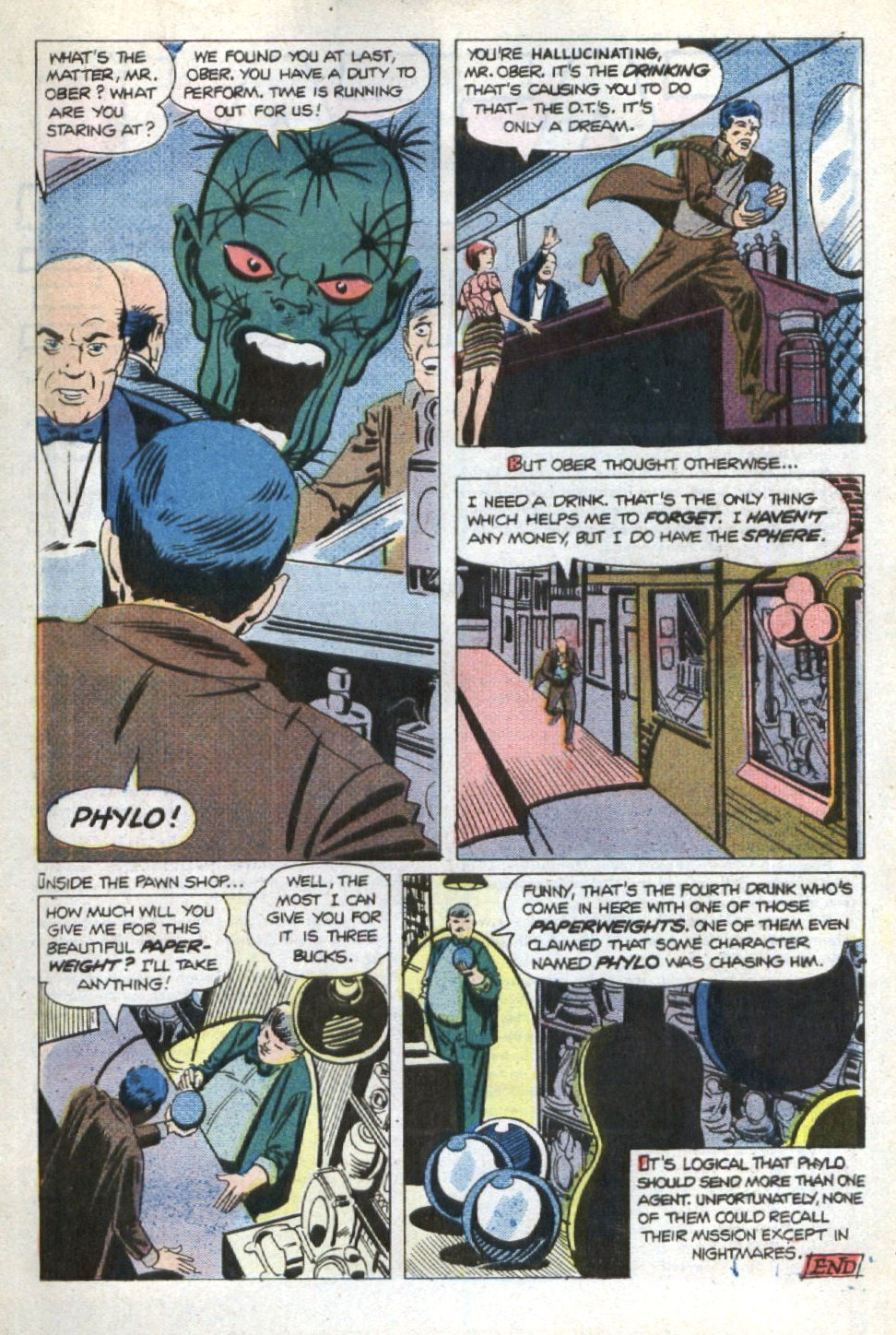 Read online Scary Tales comic -  Issue #21 - 19