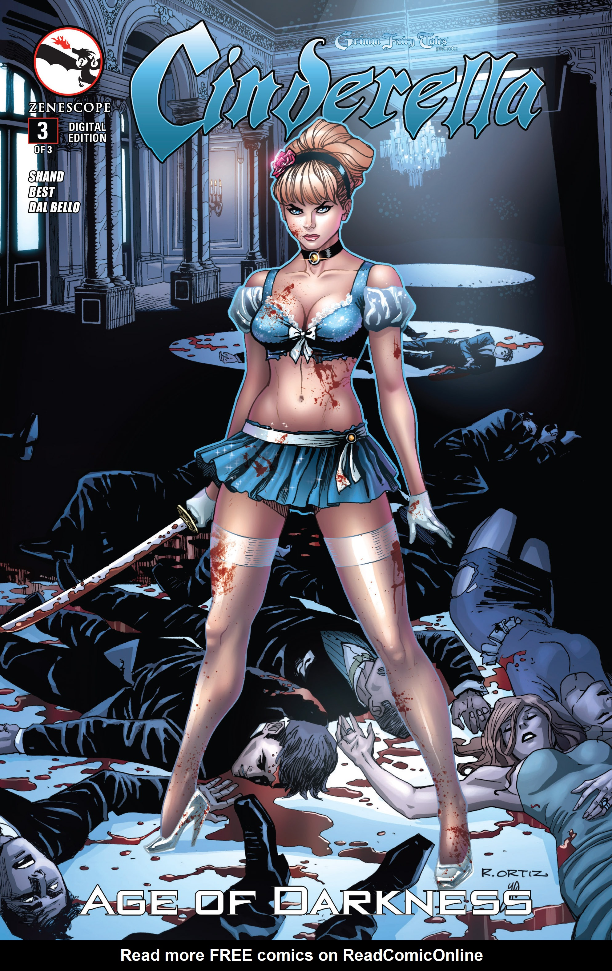 Read online Grimm Fairy Tales presents Cinderella: Age of Darkness comic -  Issue #3 - 1