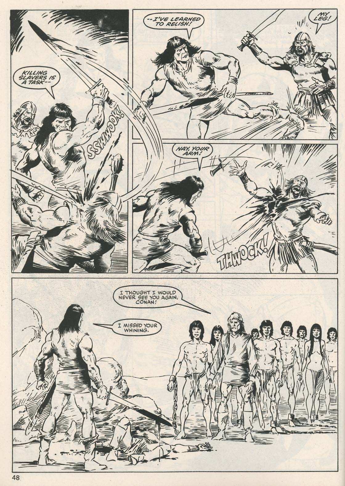 The Savage Sword Of Conan Issue #115 #116 - English 48