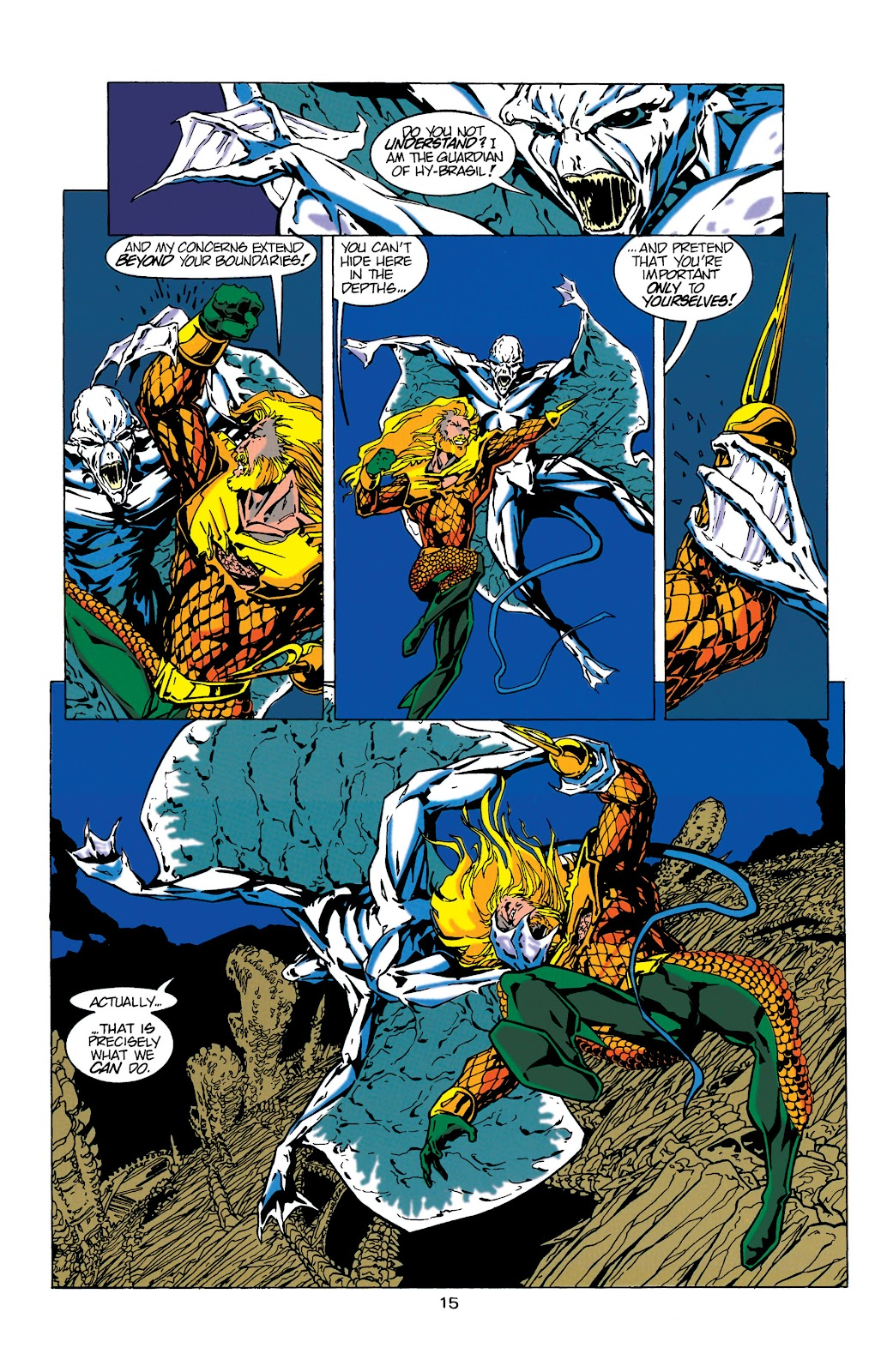 Aquaman (1994) Issue #17 #23 - English 16
