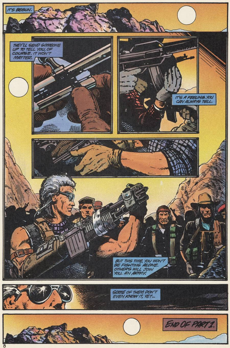 Read online Scout comic -  Issue #20 - 10