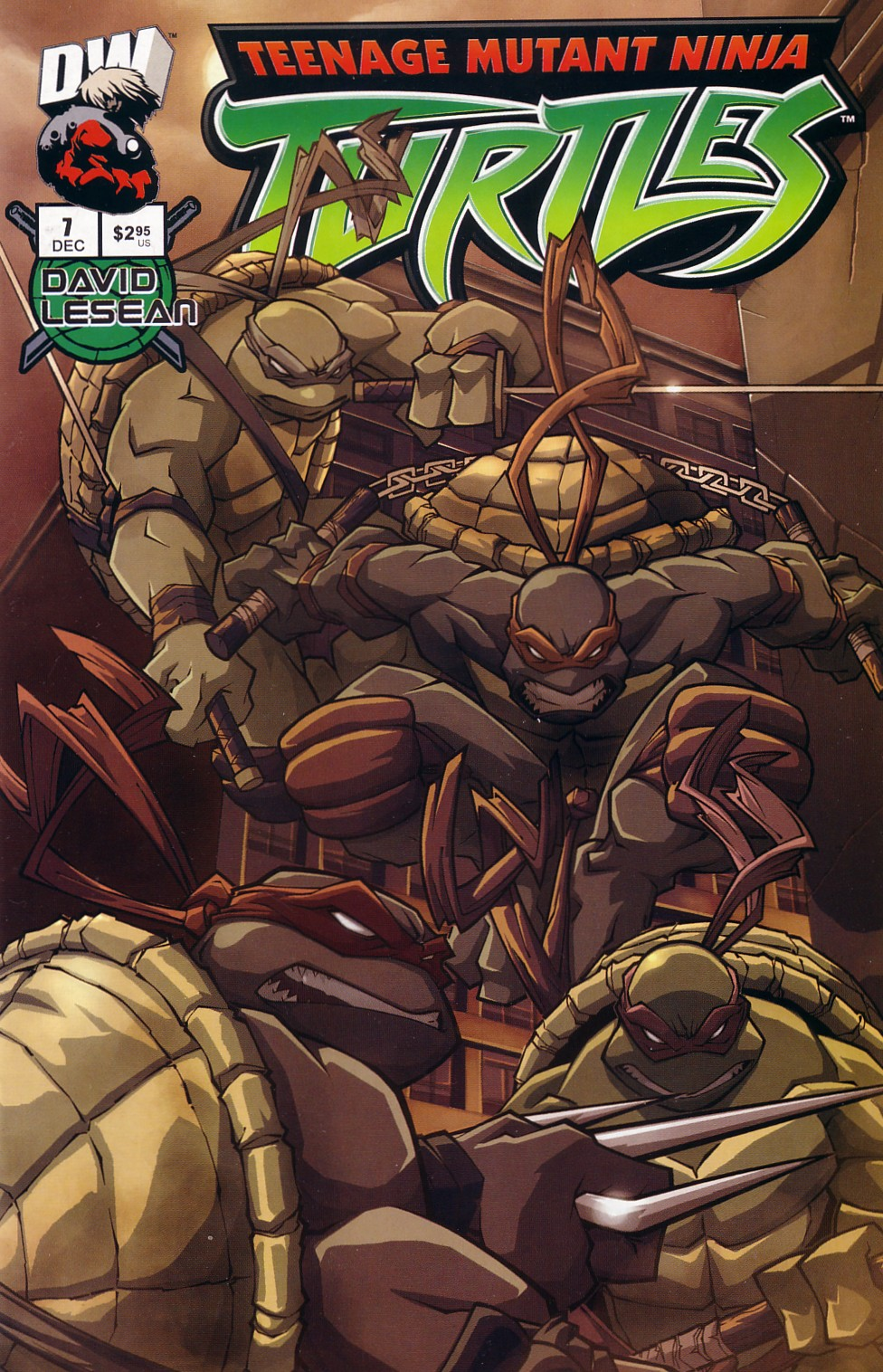 Teenage Mutant Ninja Turtles (2003) chap 7 pic 1