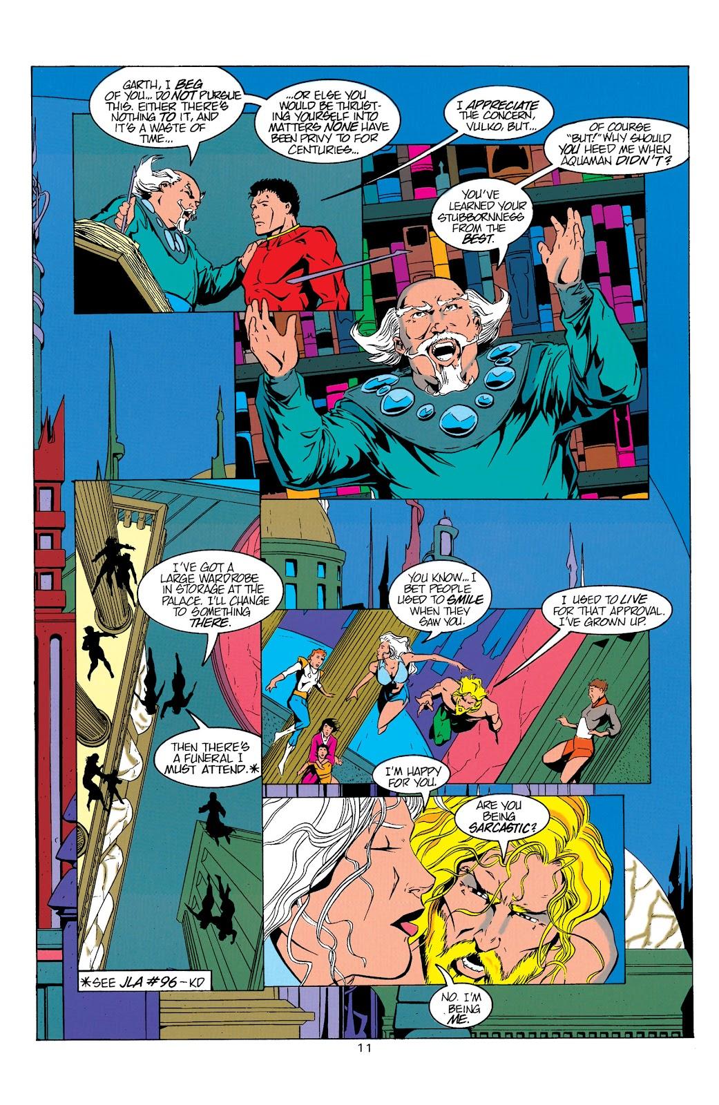 Aquaman (1994) Issue #5 #11 - English 12