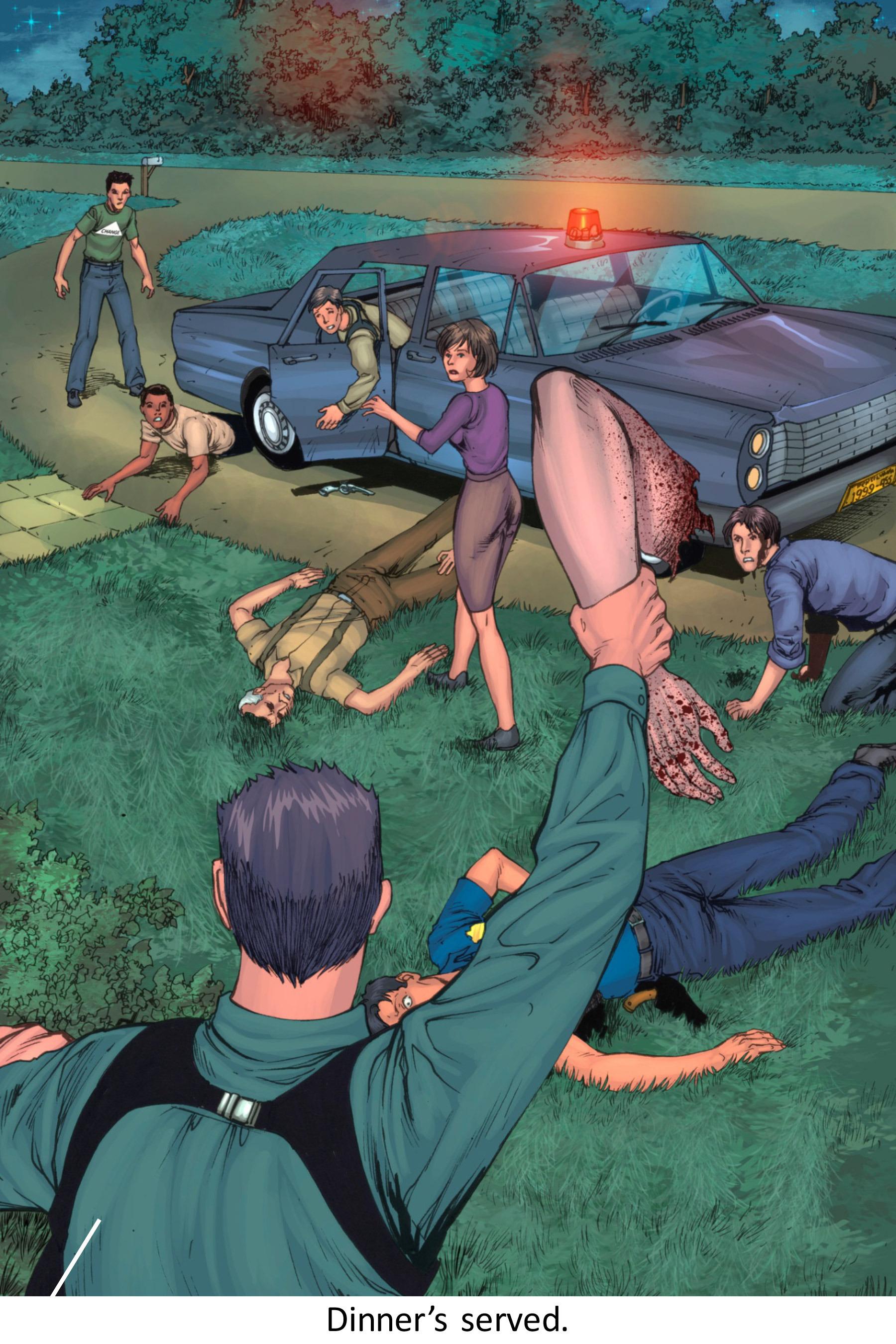 Read online Z-Men comic -  Issue #3 - 132