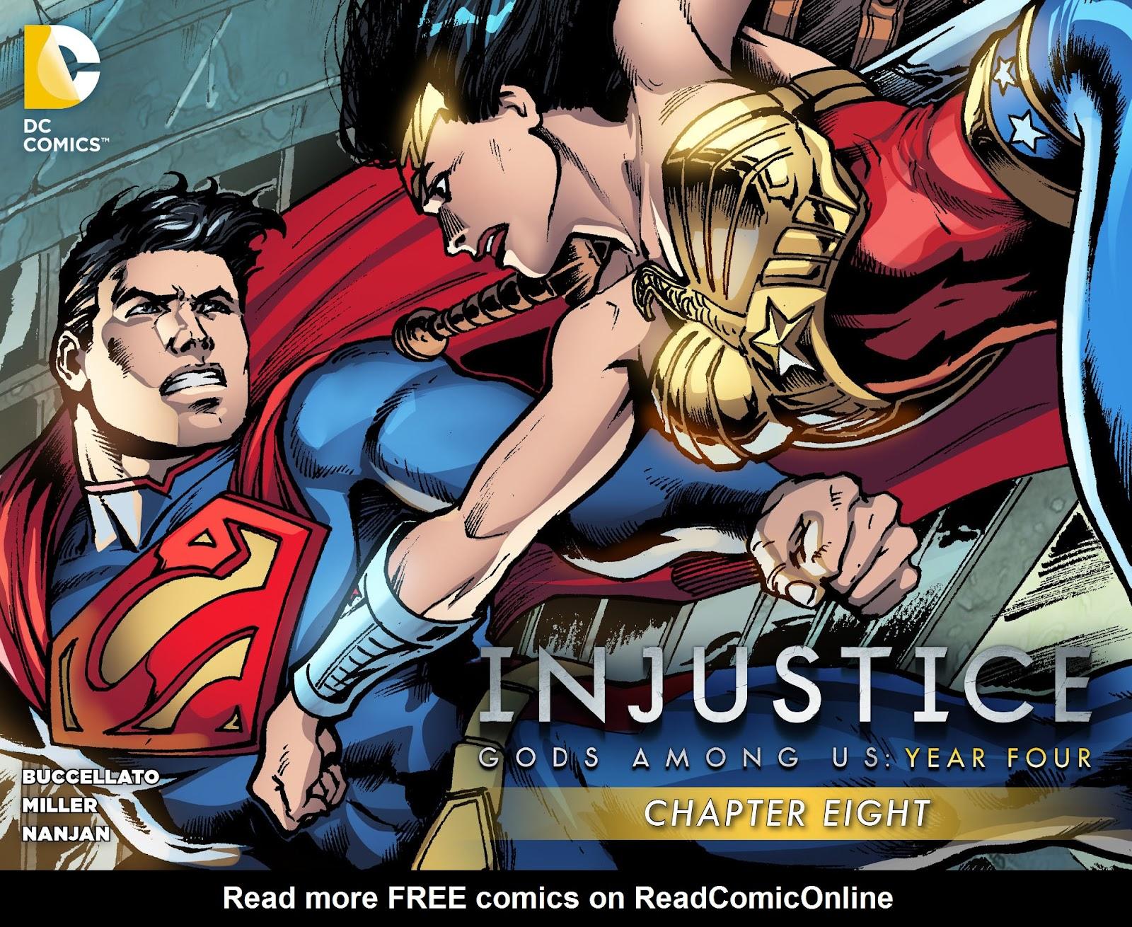 Injustice: Gods Among Us Year Four Issue #8 #9 - English 1
