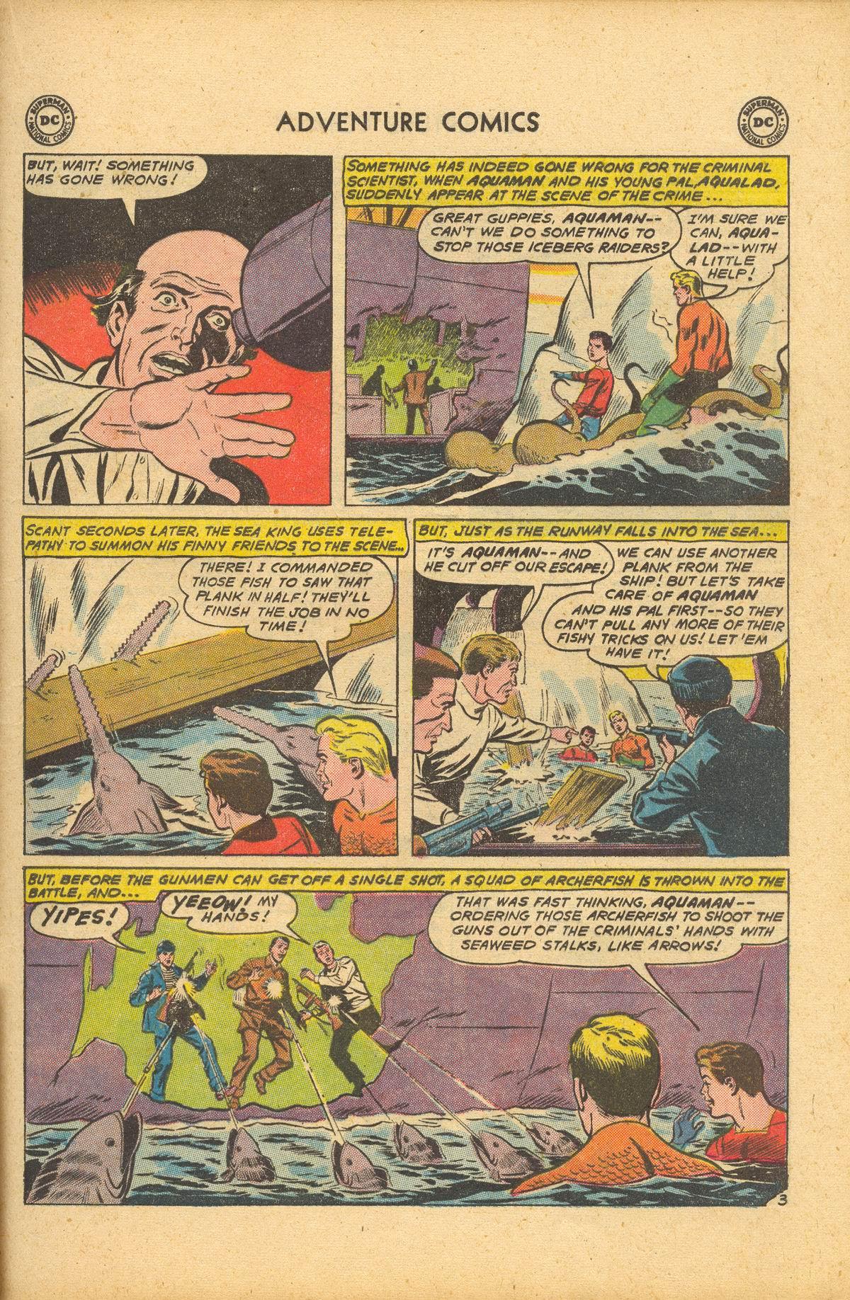 Read online Adventure Comics (1938) comic -  Issue #284 - 21