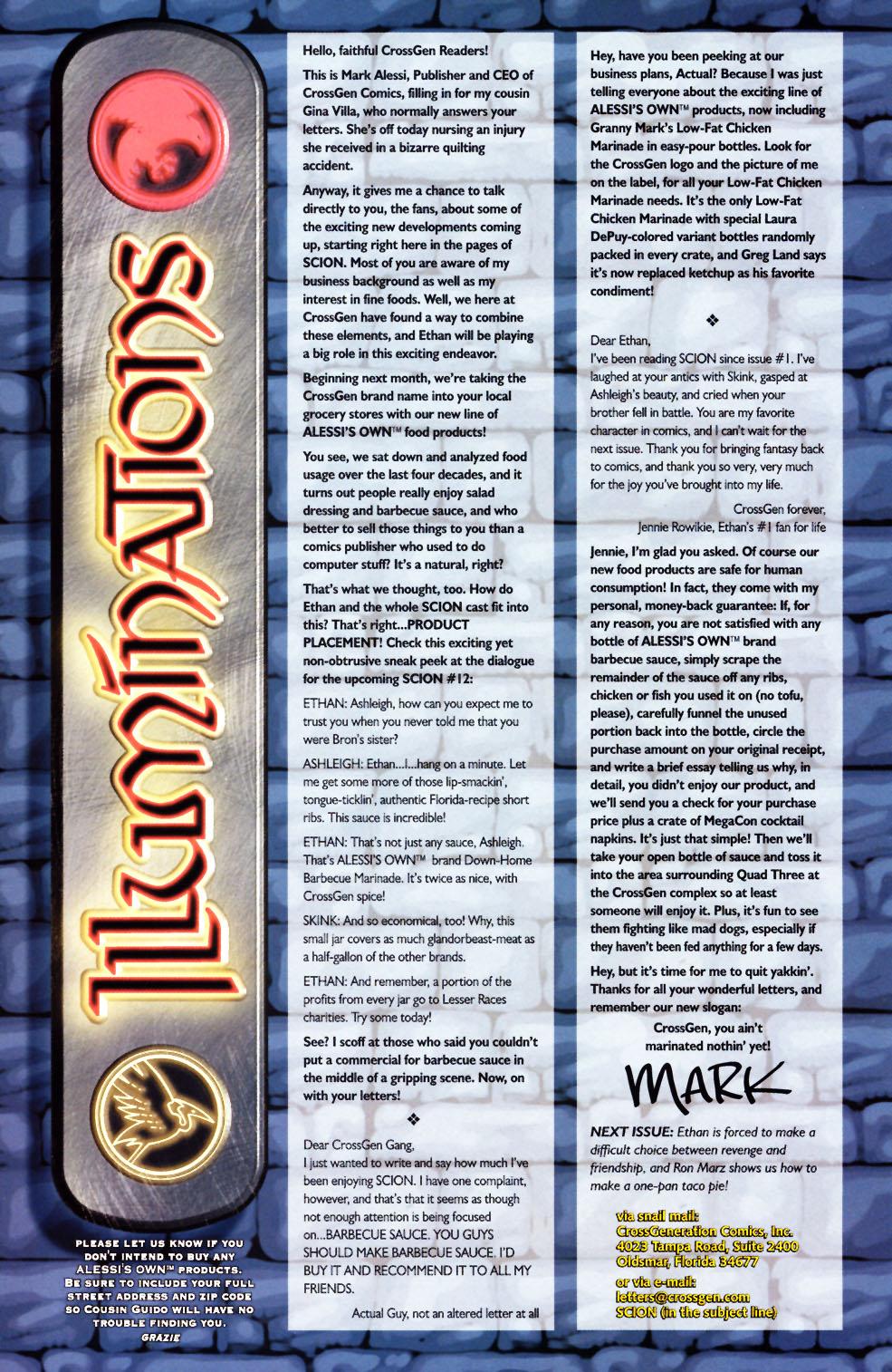 Read online Scion comic -  Issue #11 - 33