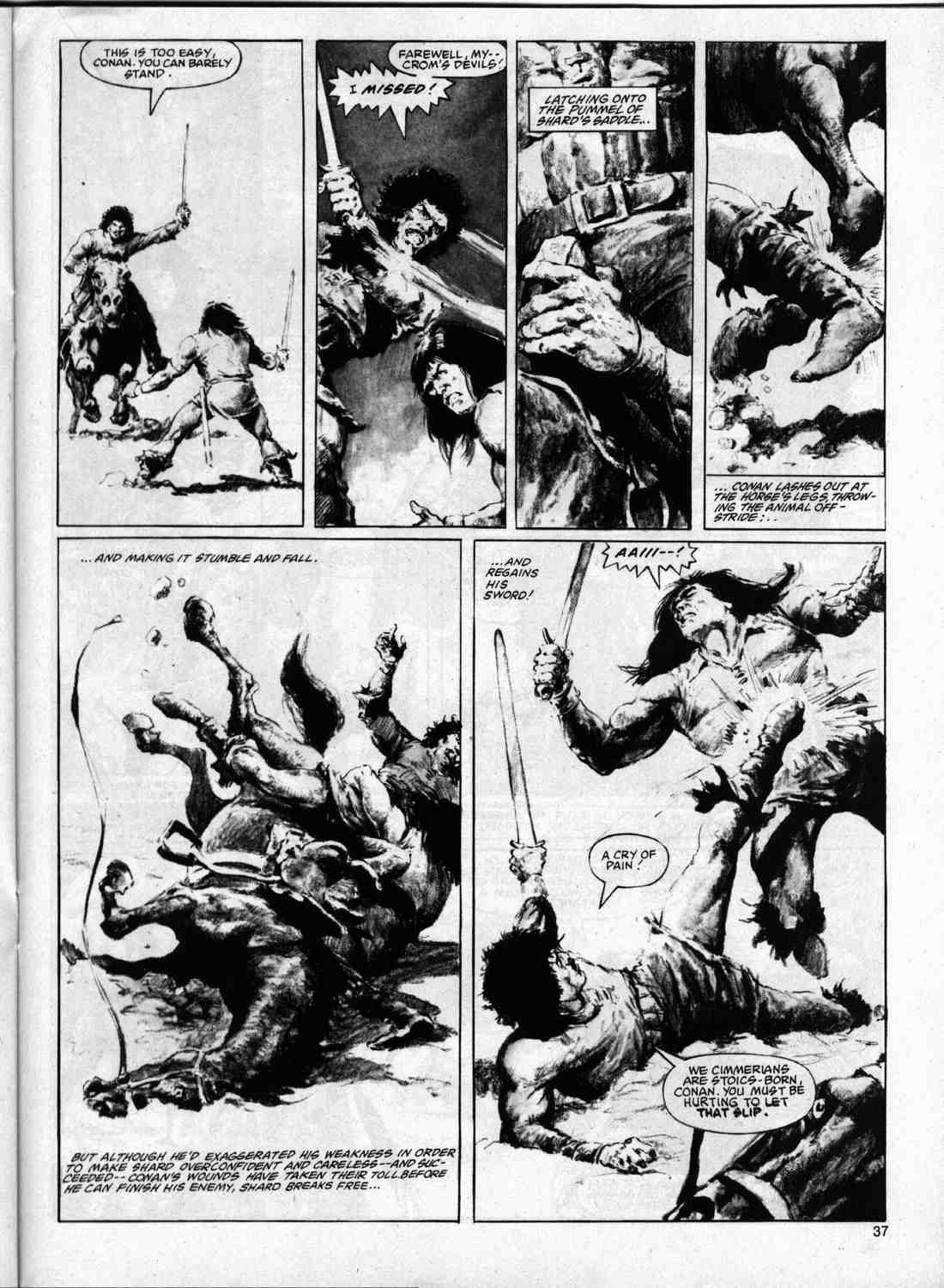 The Savage Sword Of Conan Issue #74 #75 - English 36