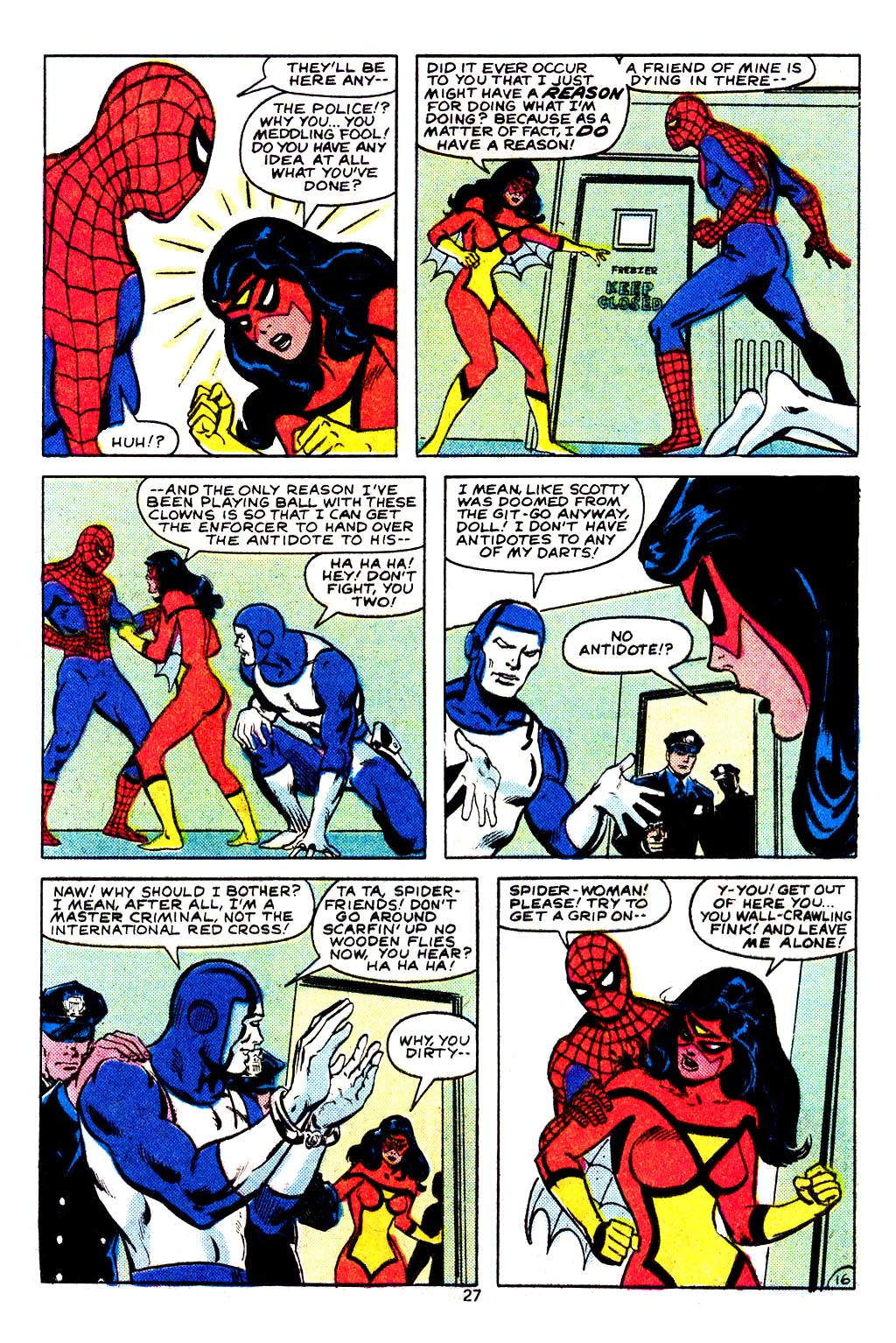 Spider-Woman (1978) Issue #29 #29 - English 17
