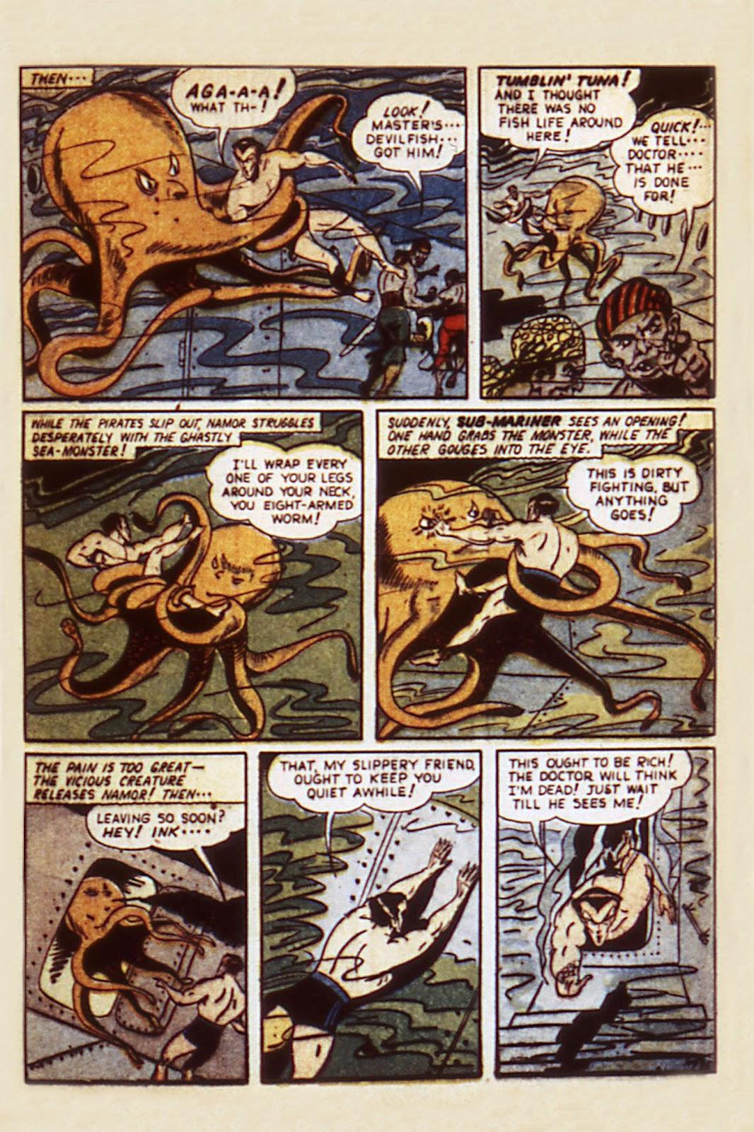 Sub-Mariner Comics Issue #7 #7 - English 17