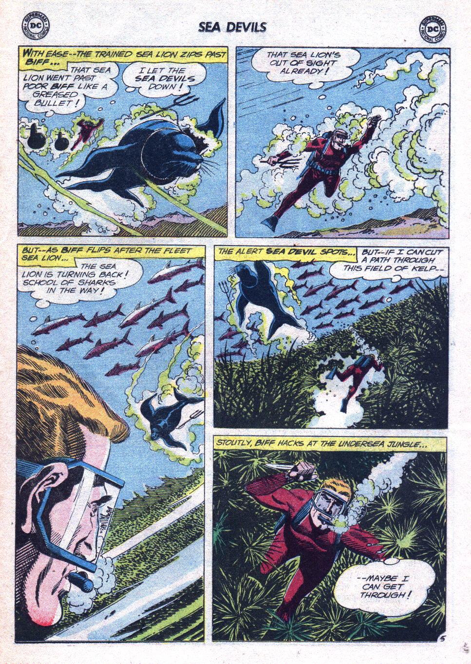 Read online Sea Devils comic -  Issue #14 - 23