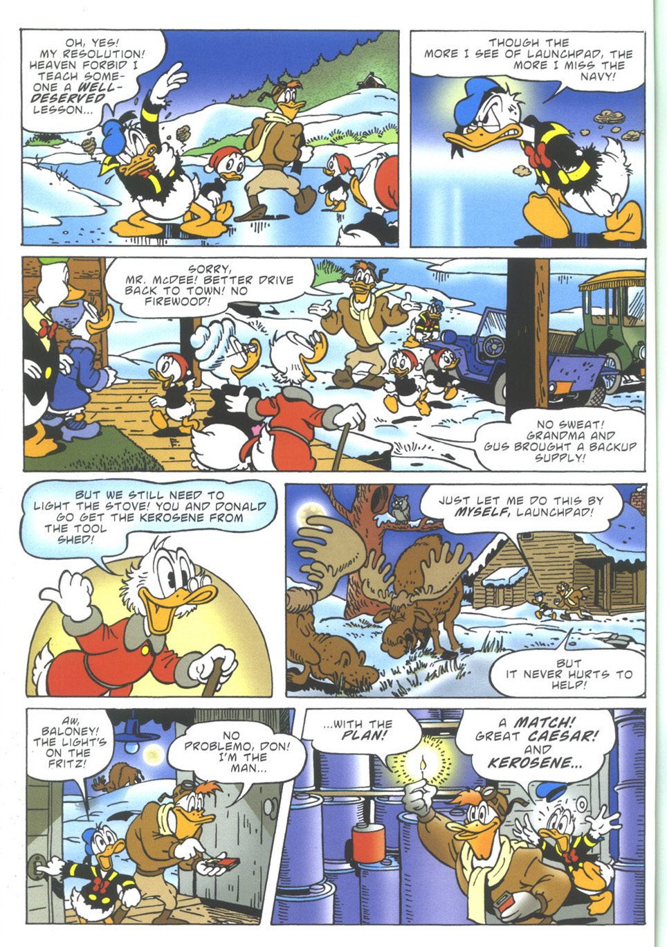 Uncle Scrooge (1953) Issue #349 #349 - English 36