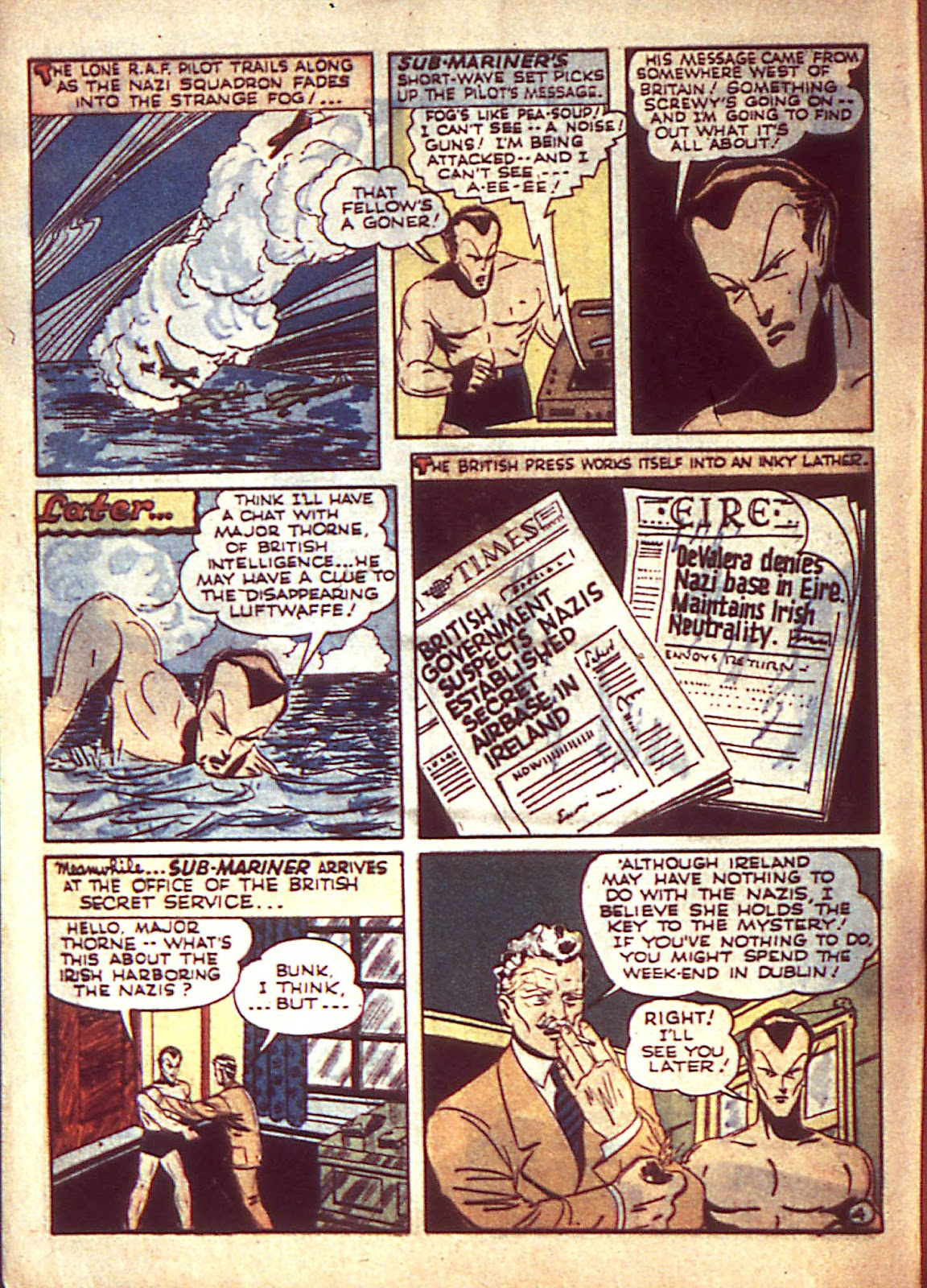 Sub-Mariner Comics Issue #3 #3 - English 7