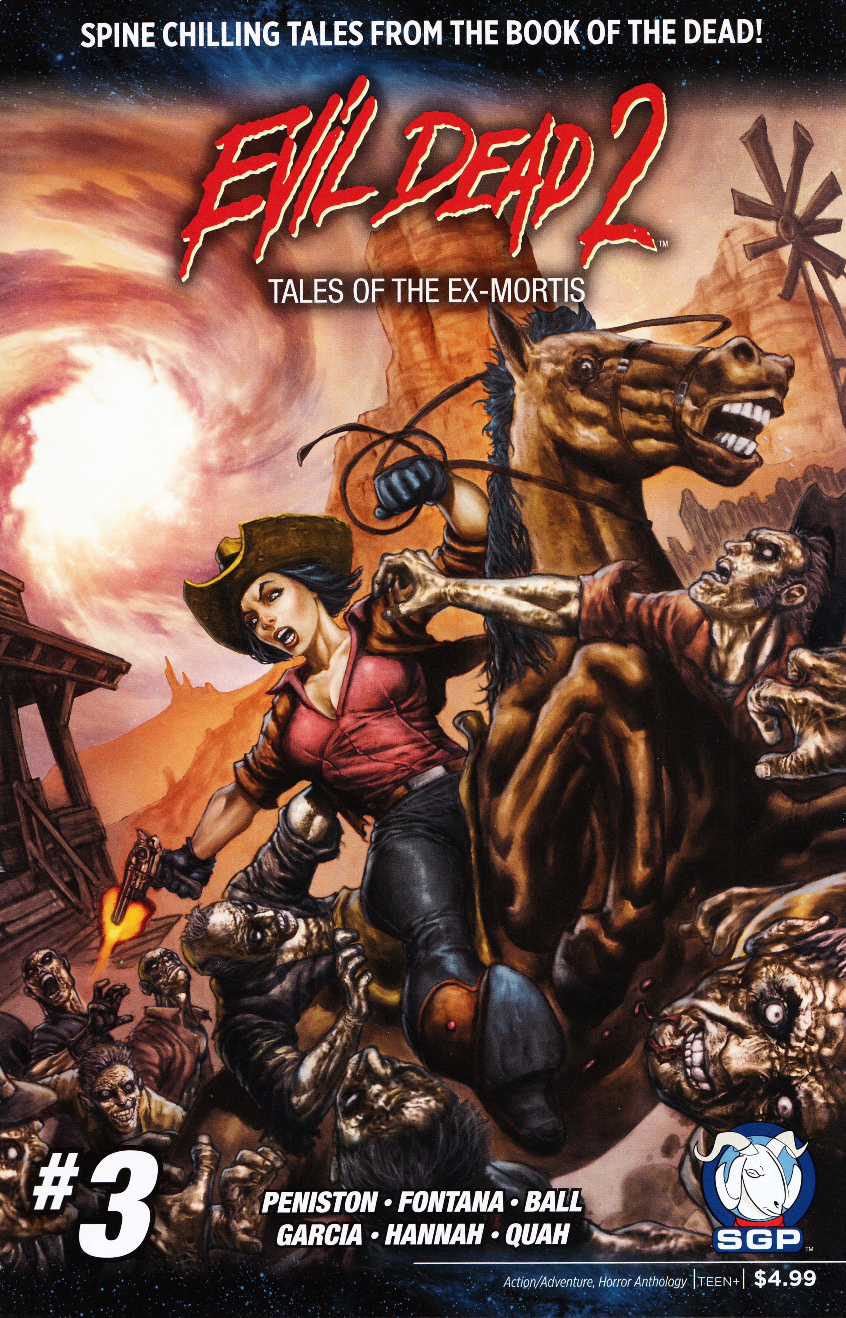 Read online Evil Dead 2: Tales of the Ex-Mortis comic -  Issue #3 - 1