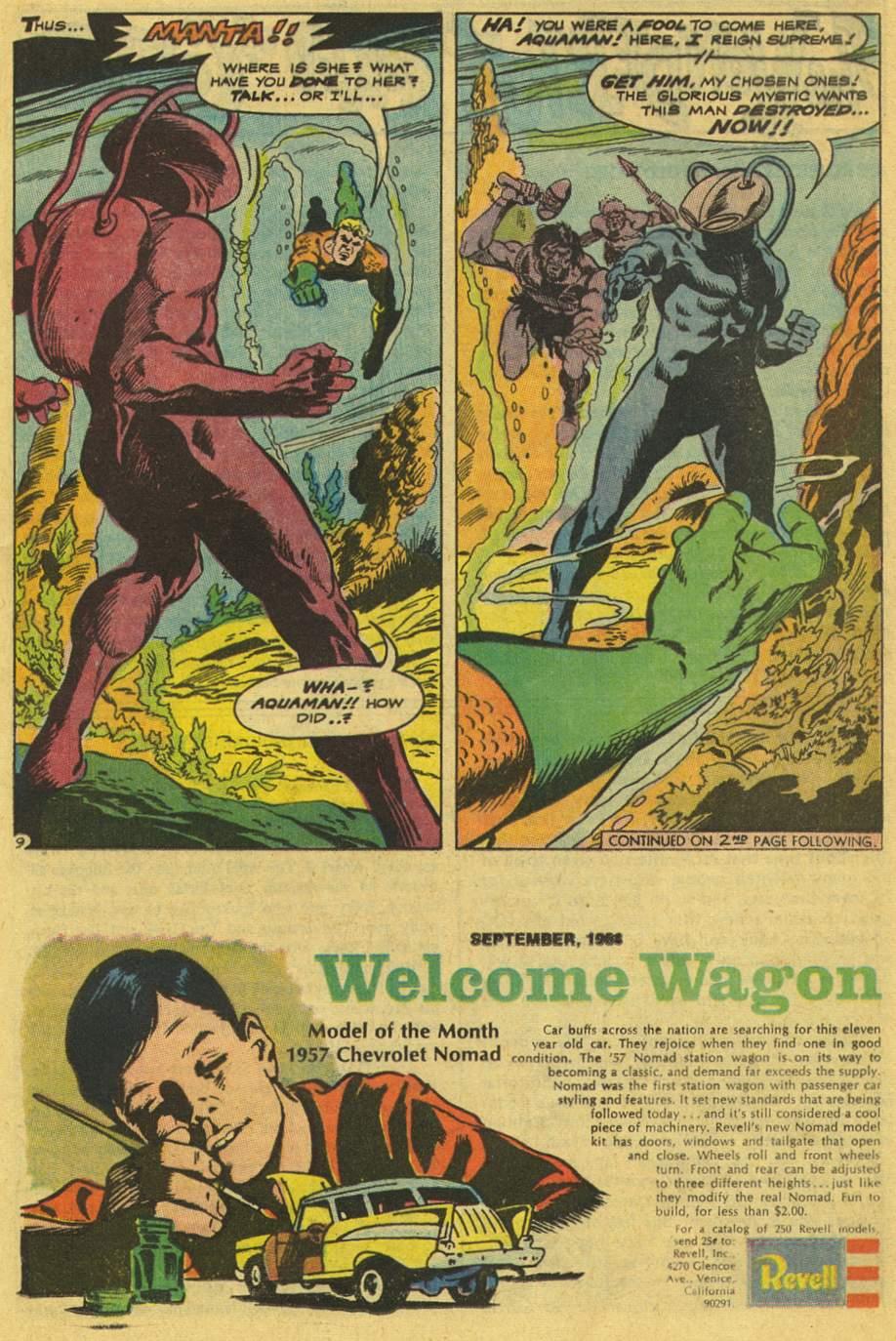 Aquaman (1962) Issue #42 #42 - English 13