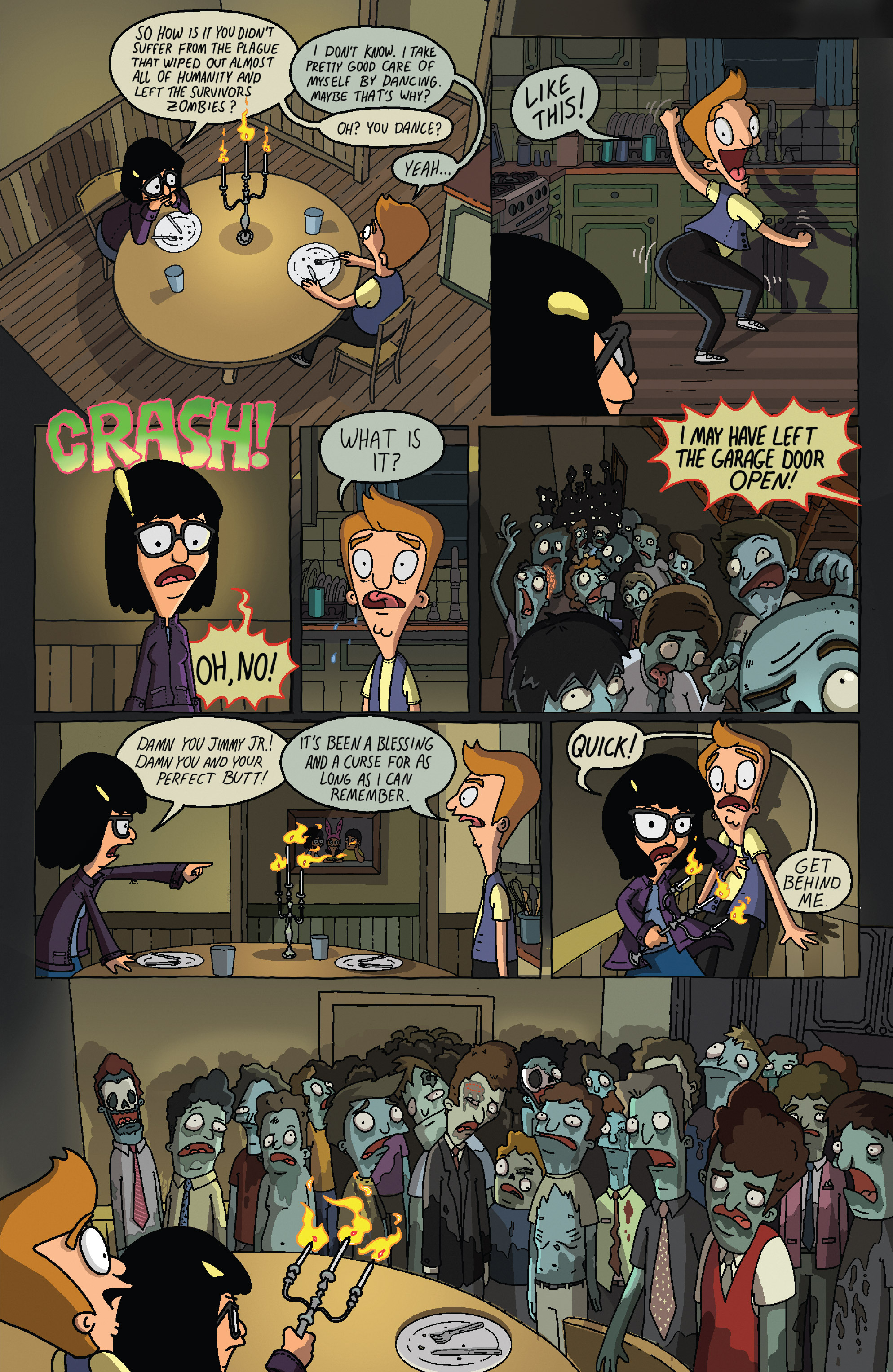 Read online Bob's Burgers (2014) comic -  Issue #5 - 7