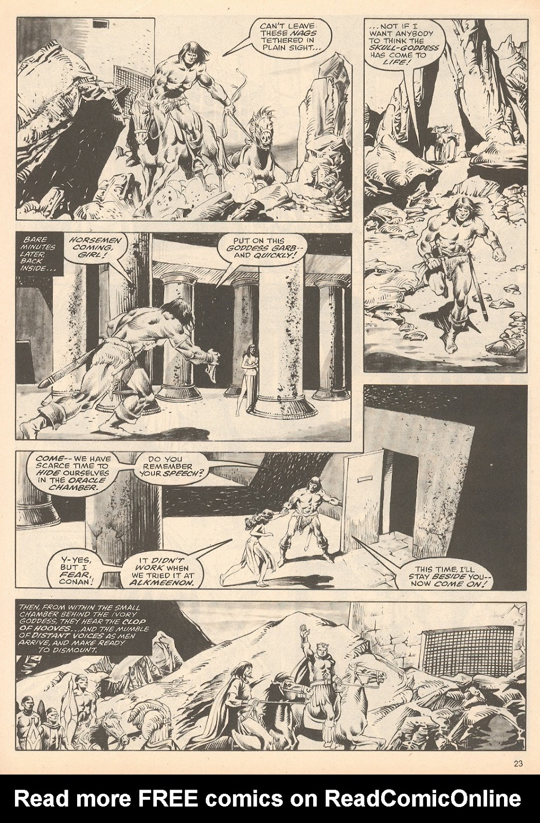 The Savage Sword Of Conan Issue #60 #61 - English 23