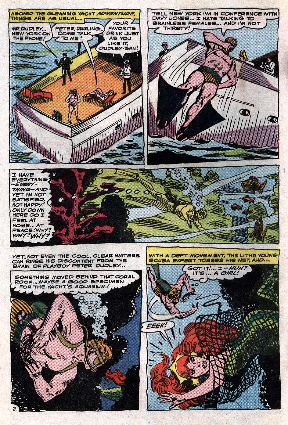 Aquaman (1962) Issue #34 #34 - English 4