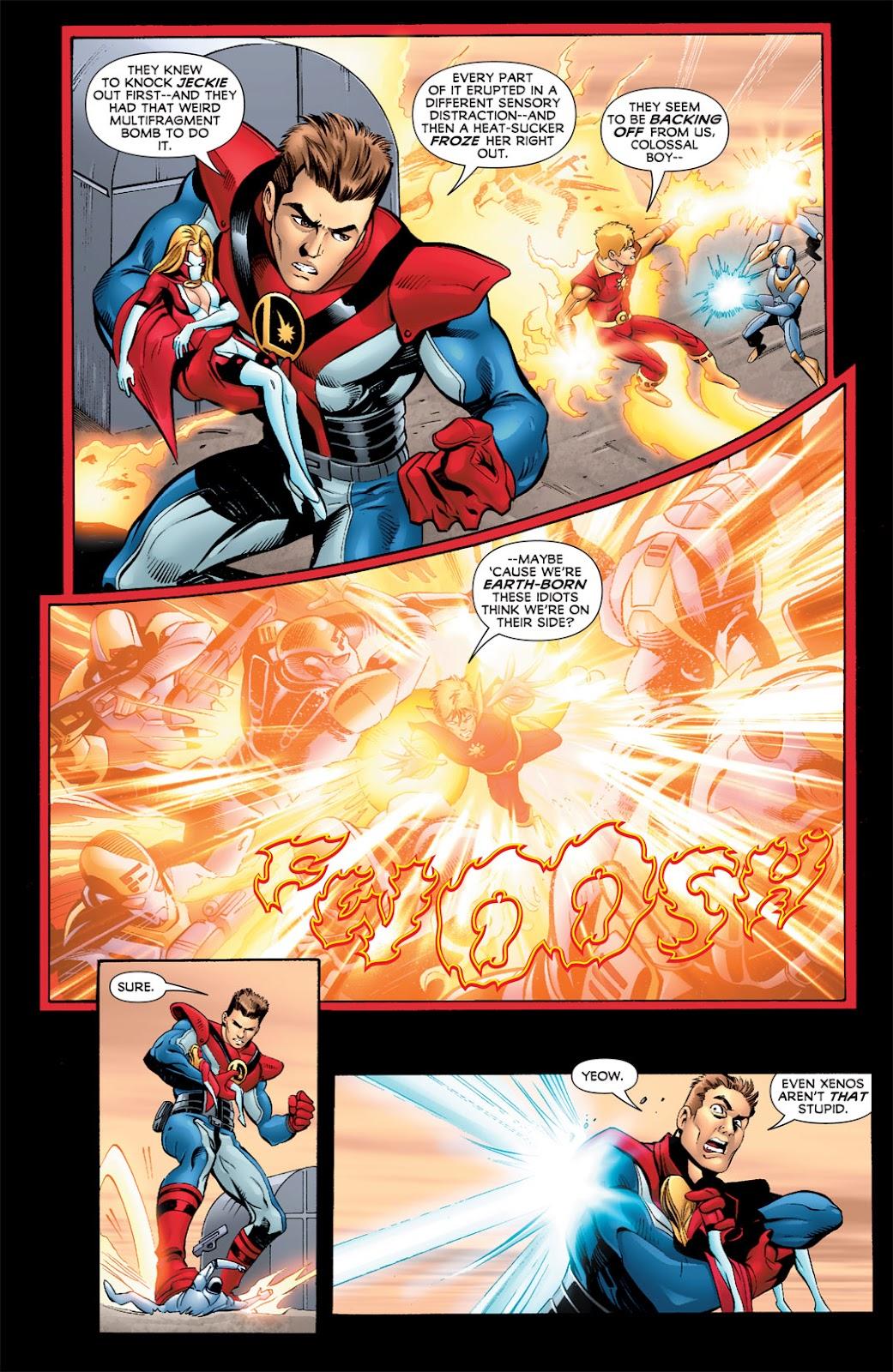 Legion of Super-Heroes (2010) Issue #5 #6 - English 11