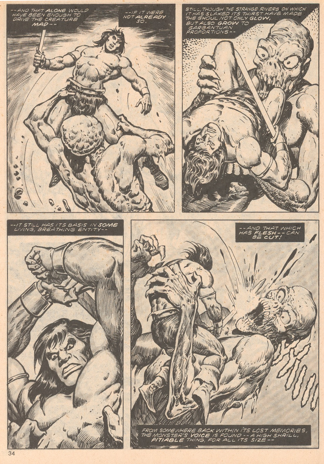 The Savage Sword Of Conan Issue #68 #69 - English 34